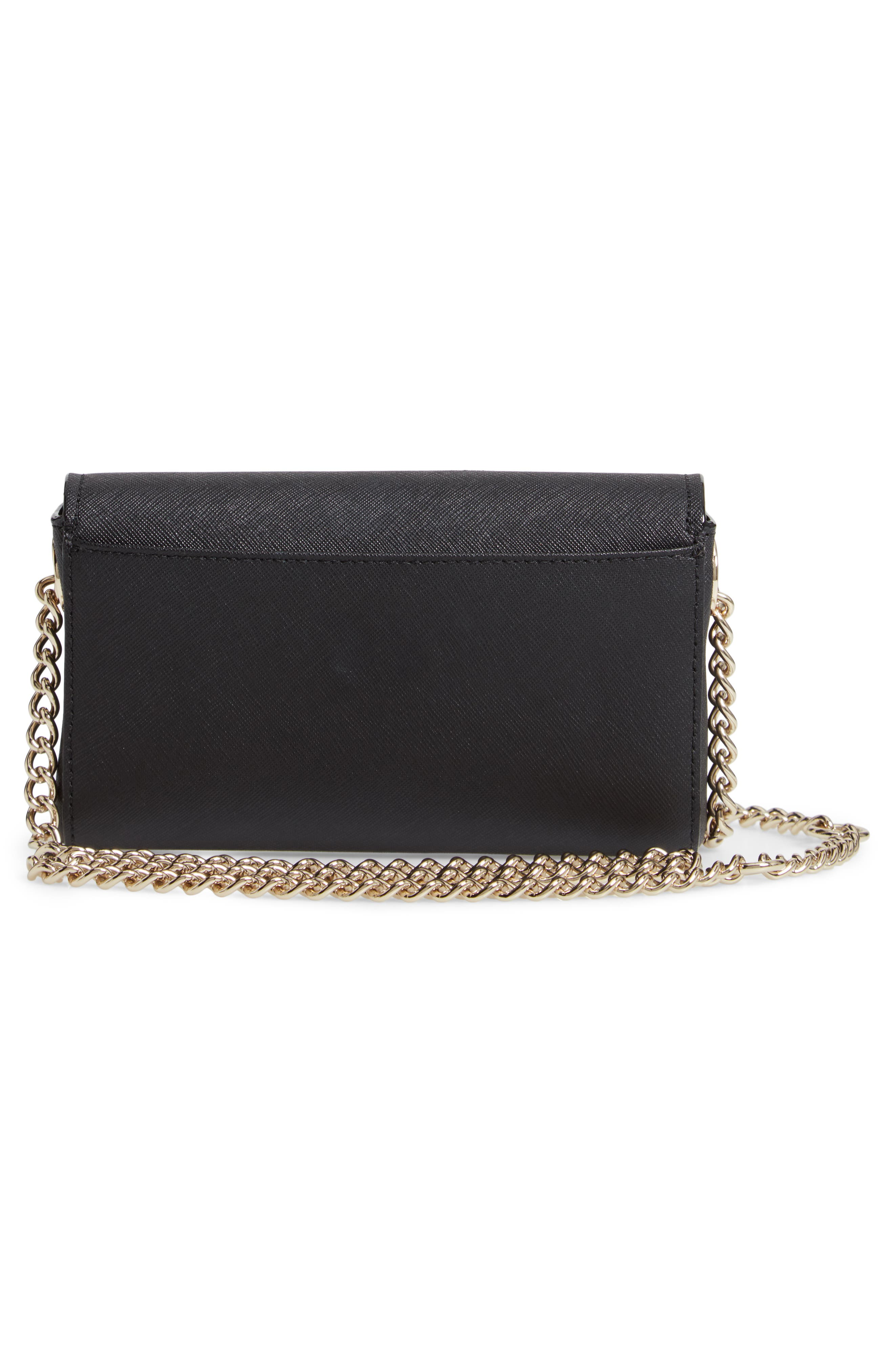 cameron street - delilah belt bag,                             Alternate thumbnail 4, color,                             BLACK