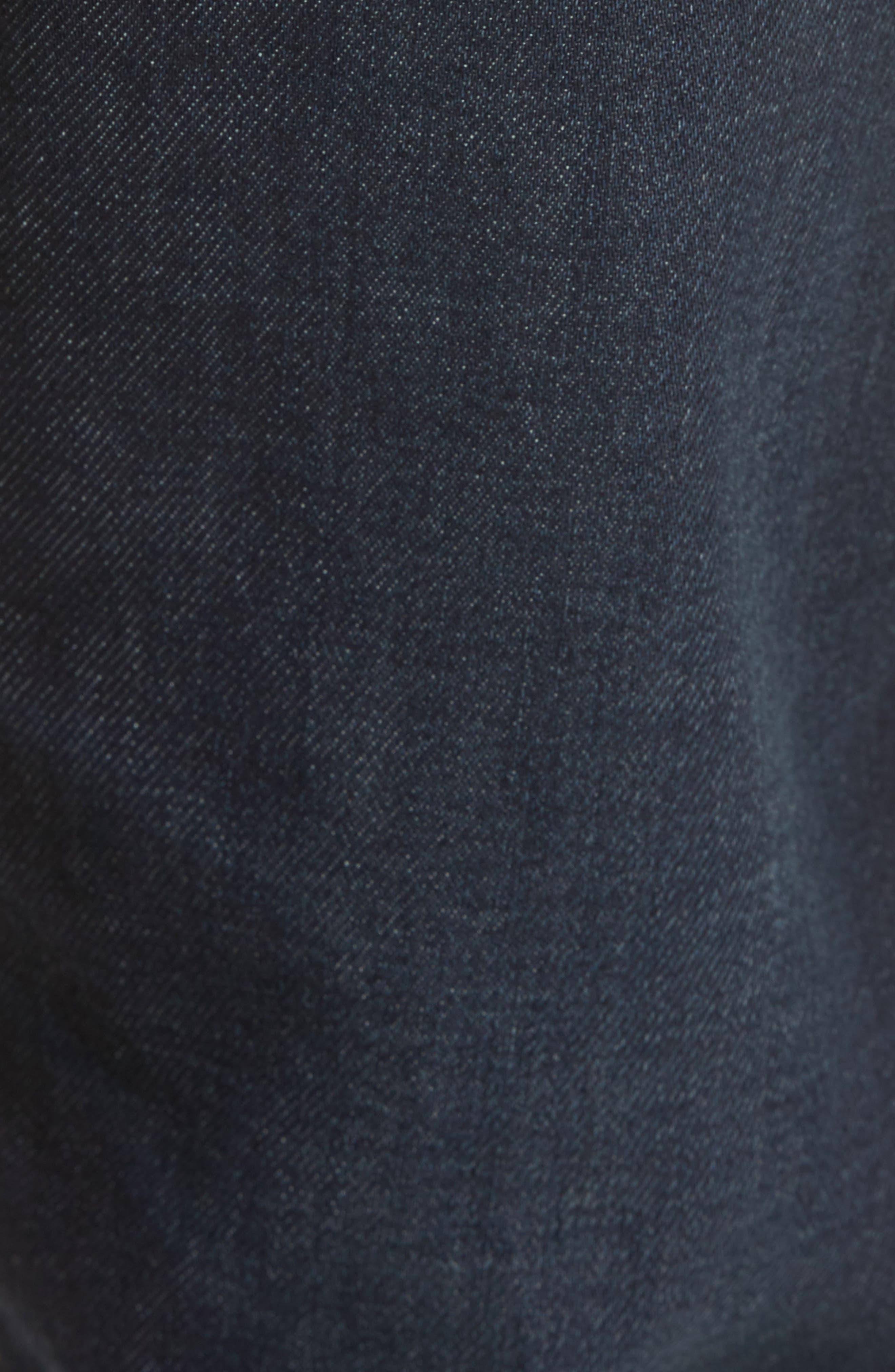 Slim Straight Leg Jeans,                             Alternate thumbnail 5, color,                             409