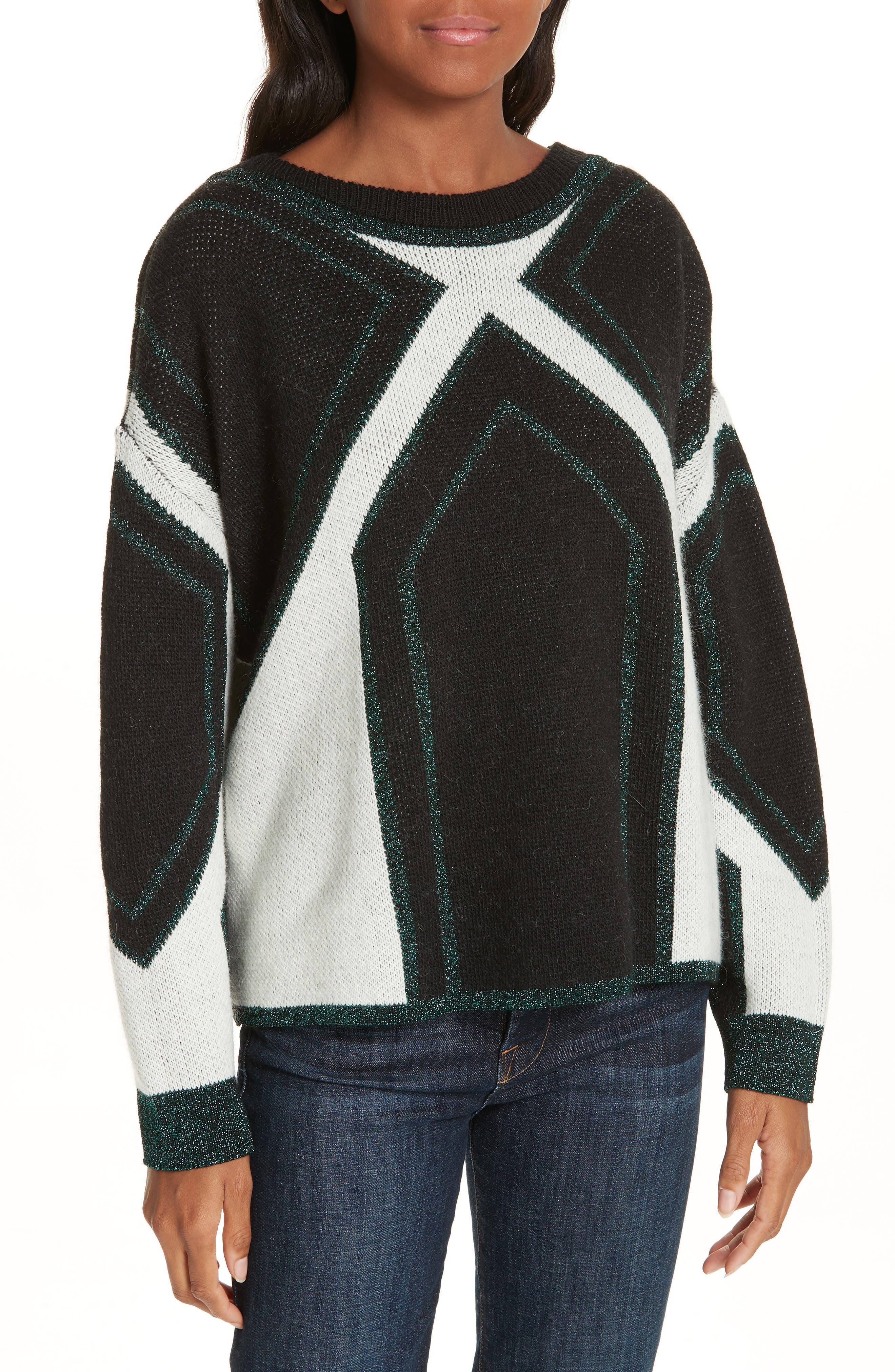 Velny Sweater,                             Main thumbnail 1, color,                             MULTI
