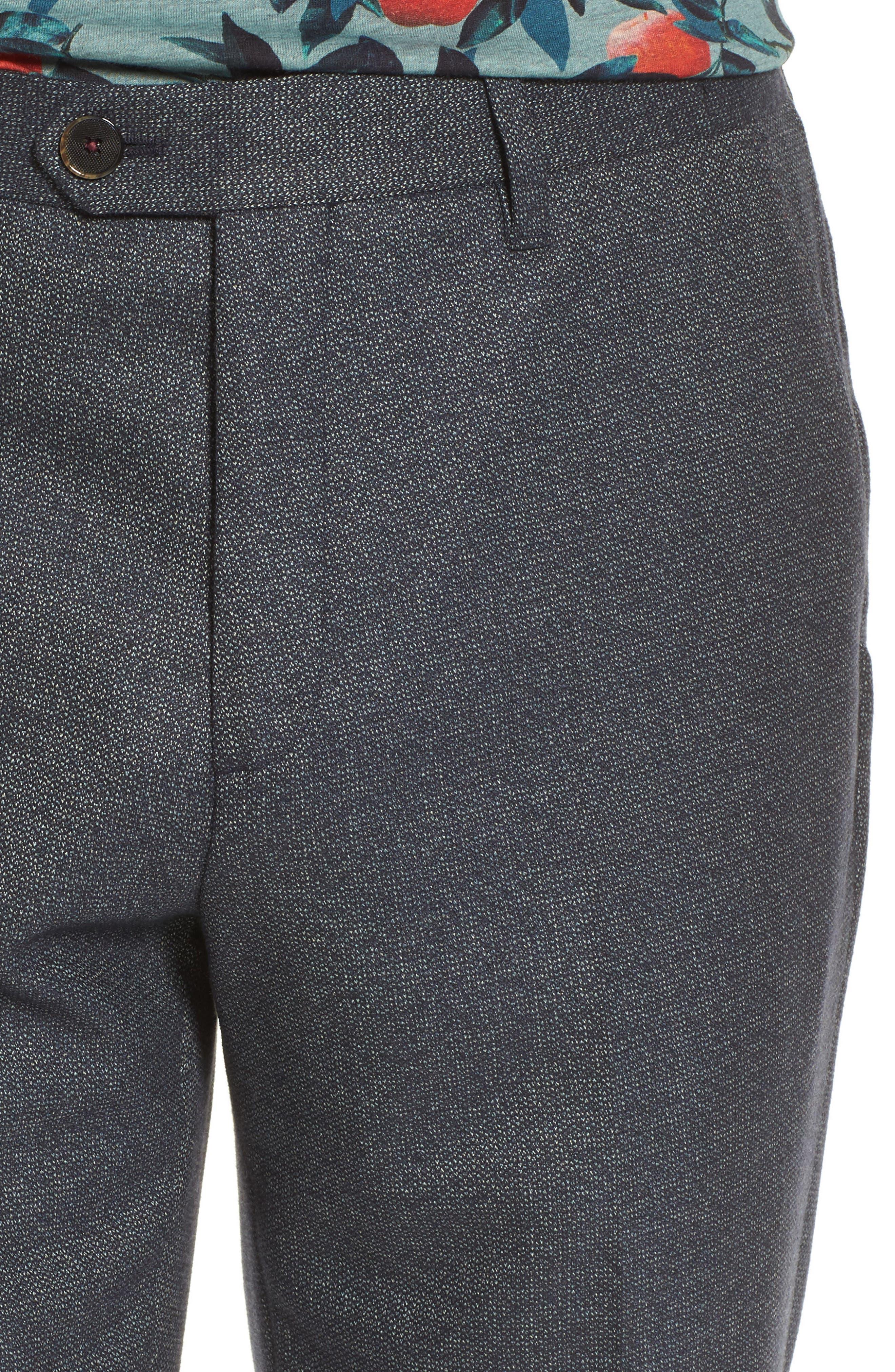 Beektro Trim Fit Trousers,                             Alternate thumbnail 4, color,