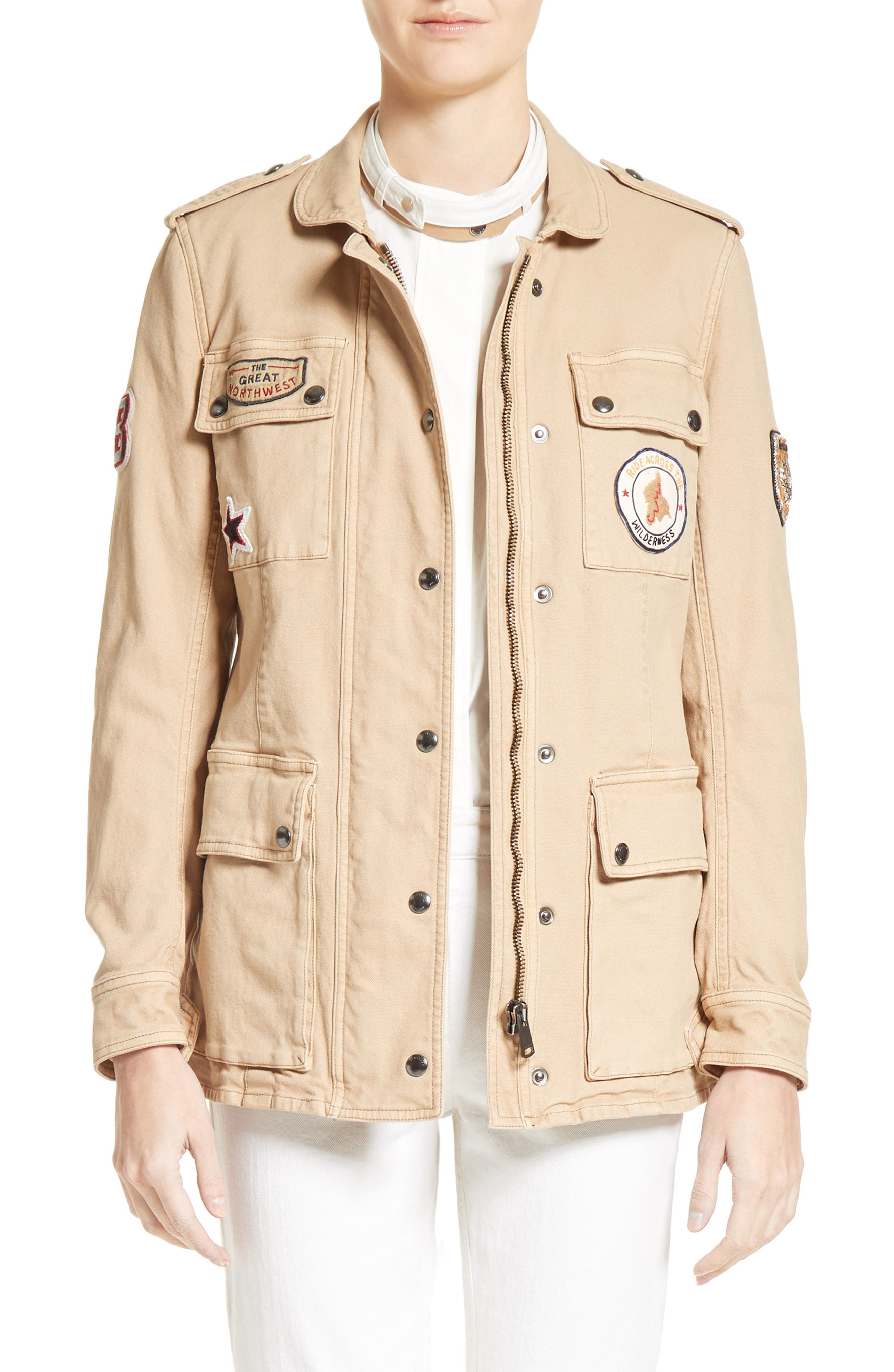 Hoghton Cotton Drill Jacket, Main, color, 263
