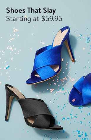 Find the perfect heels for prom.