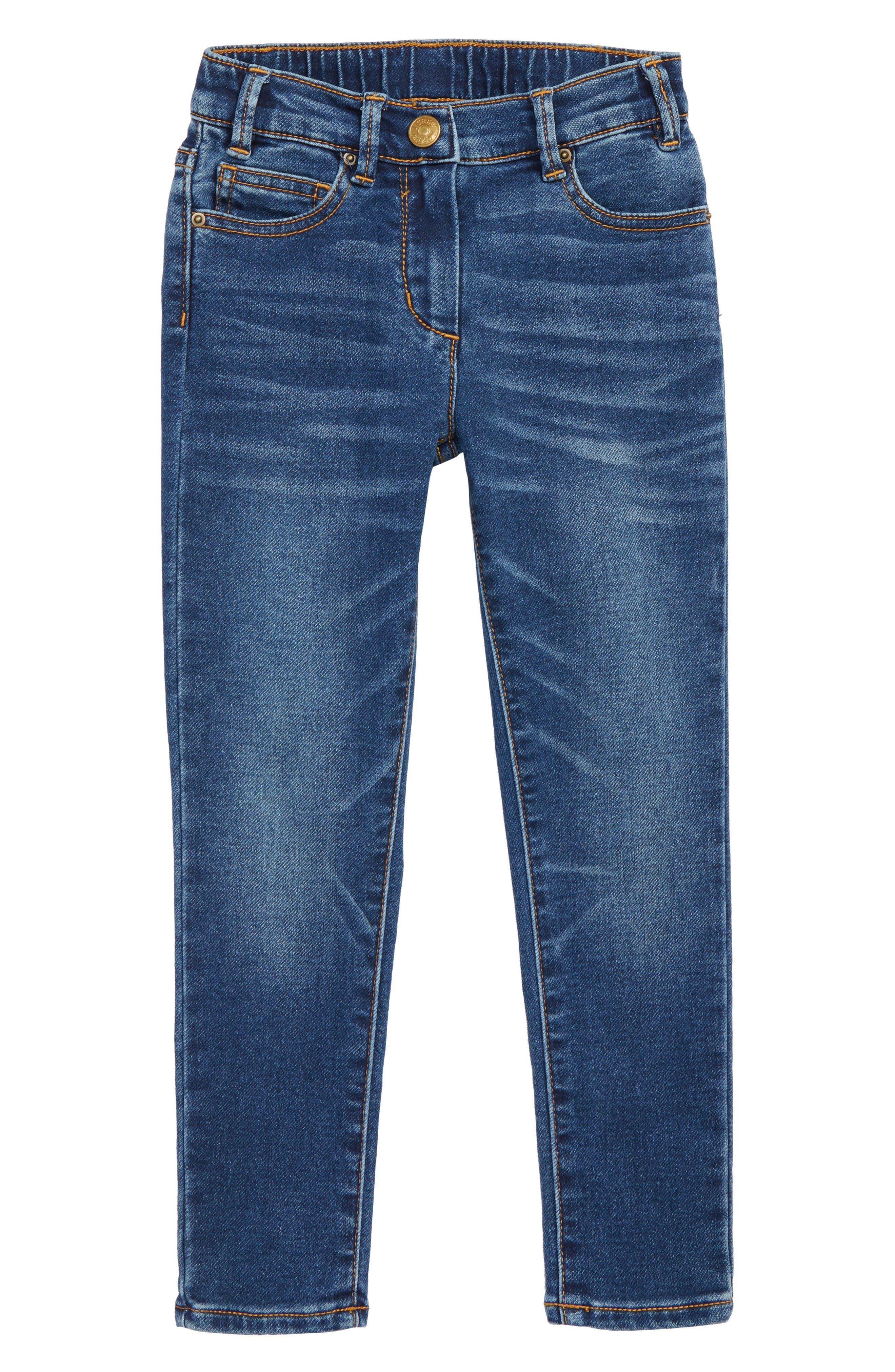 Girls Crewcuts By Jcrew Runaround Stretch Denim Jeans Size 7  Blue