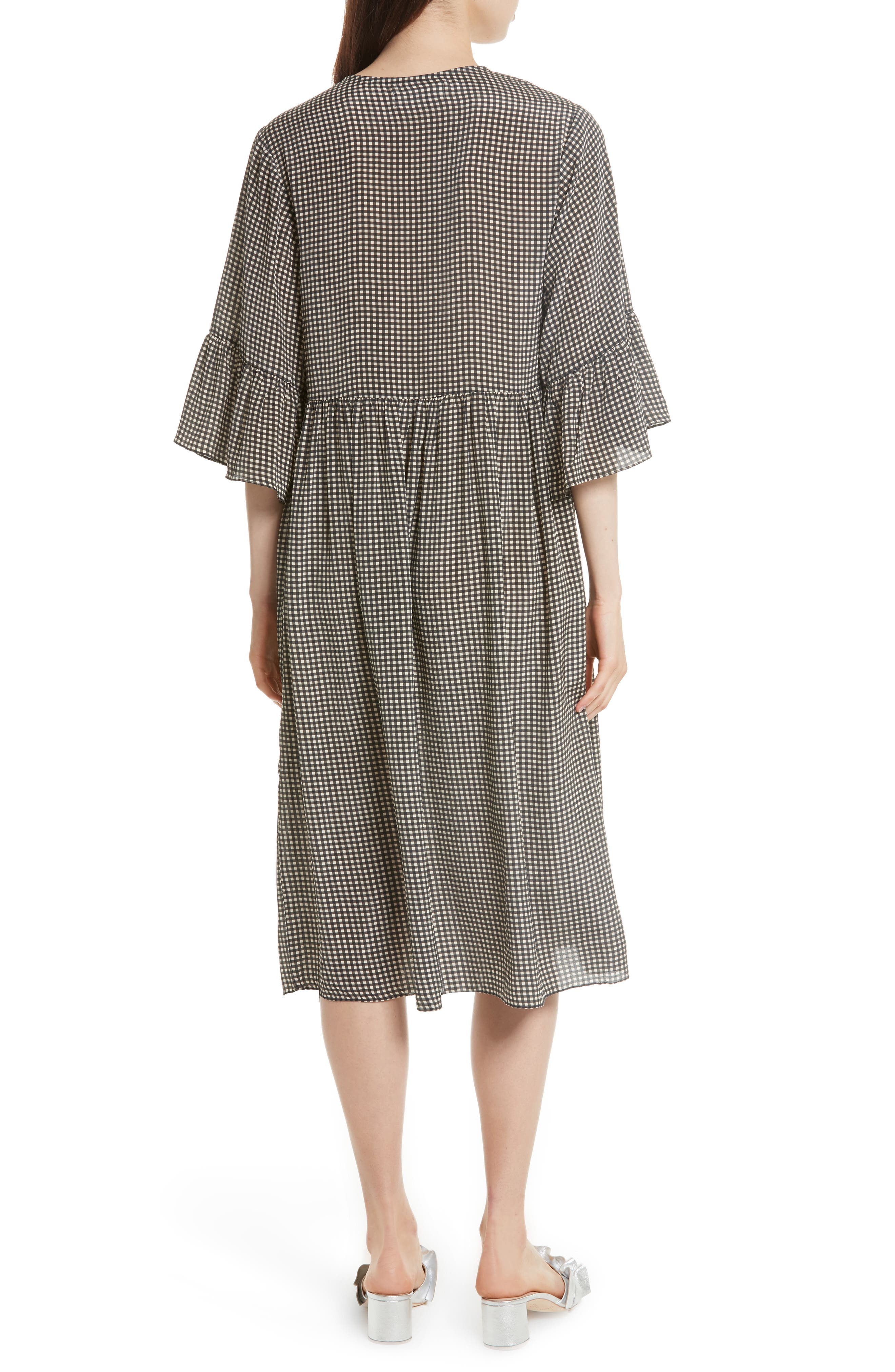 The Sweetie Silk Midi Dress,                             Alternate thumbnail 2, color,                             020