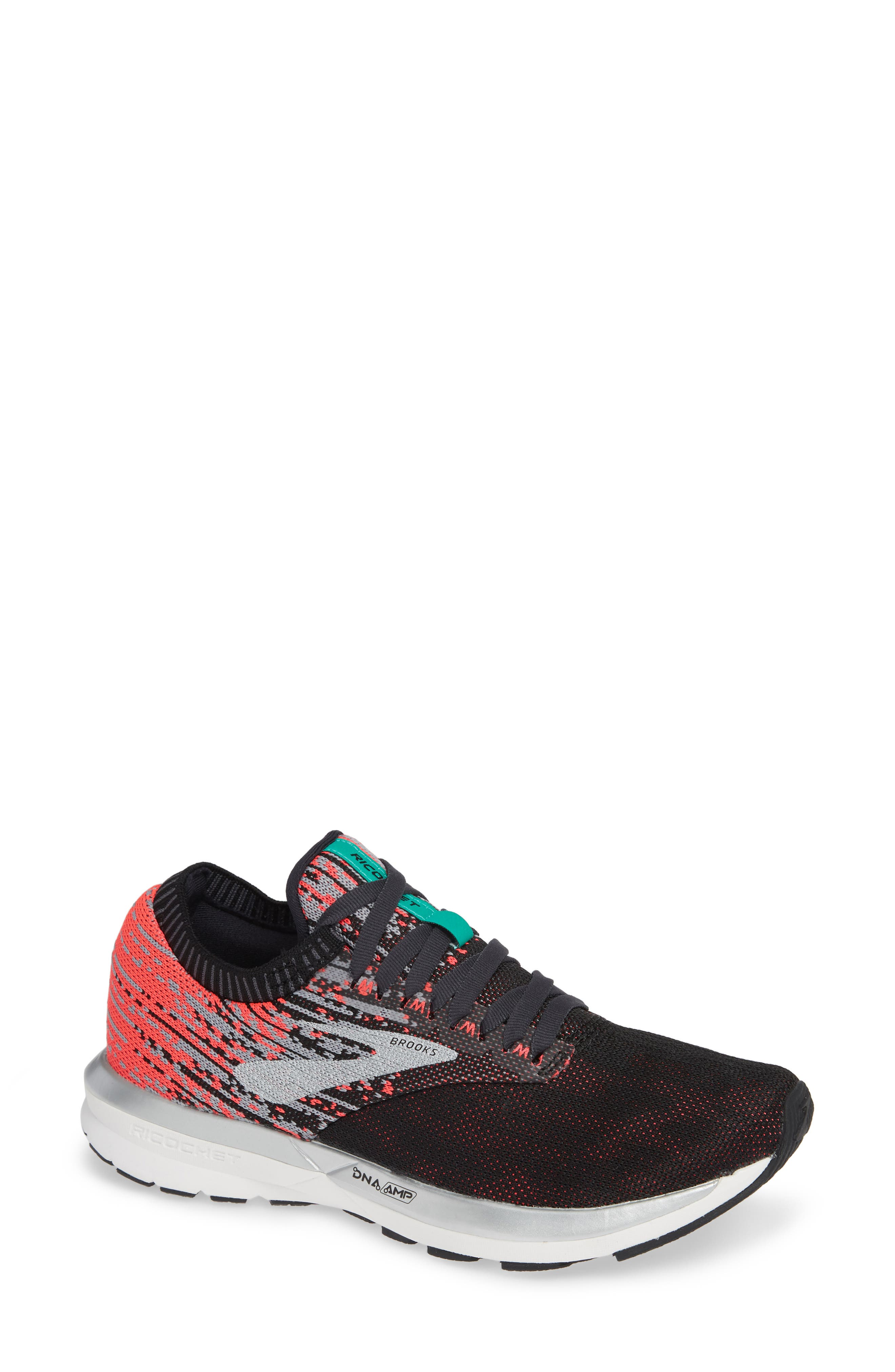 Brooks Ricochet Running Shoe, Black