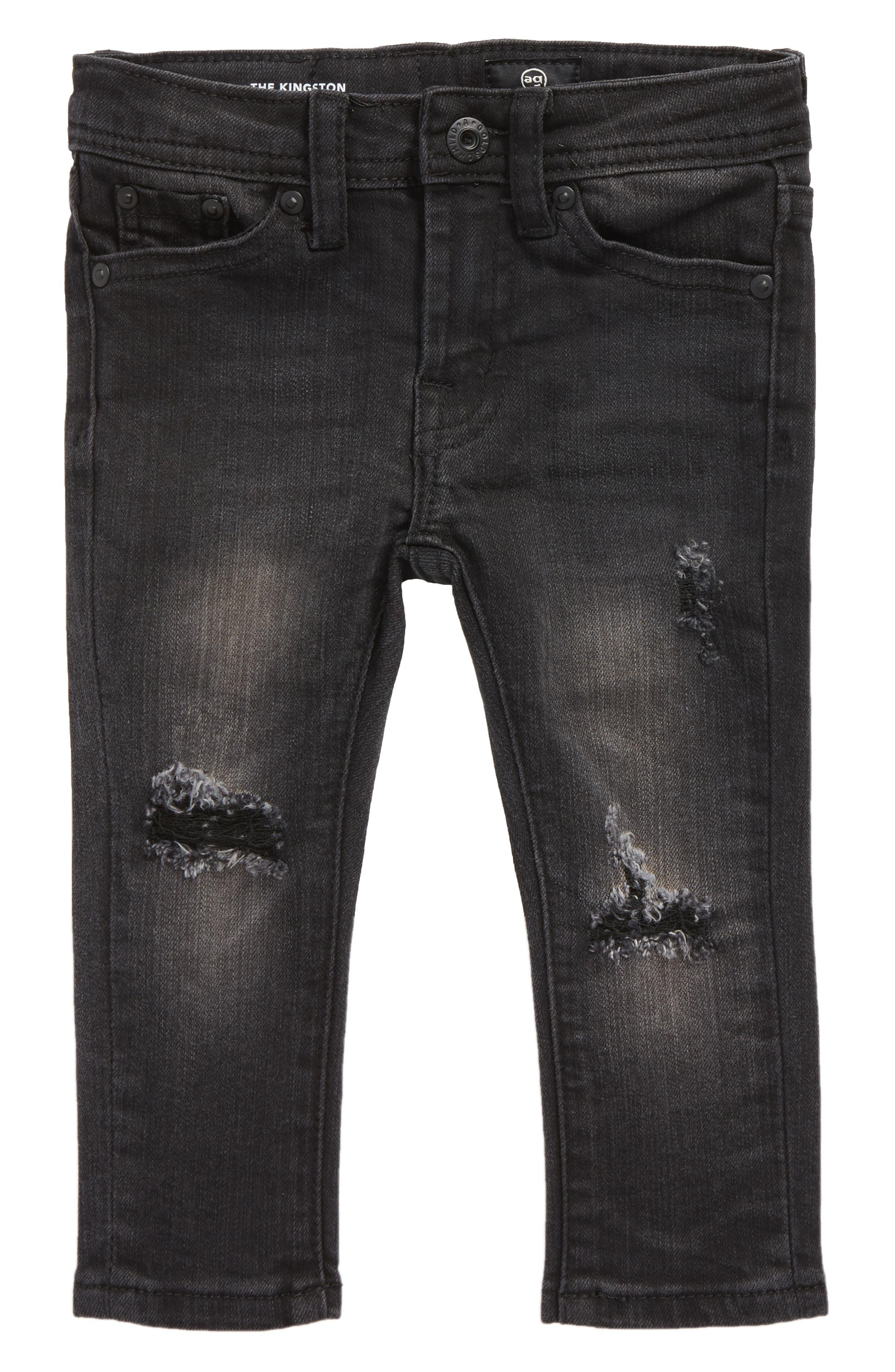 The Kingston Slim Jeans,                             Main thumbnail 1, color,                             001