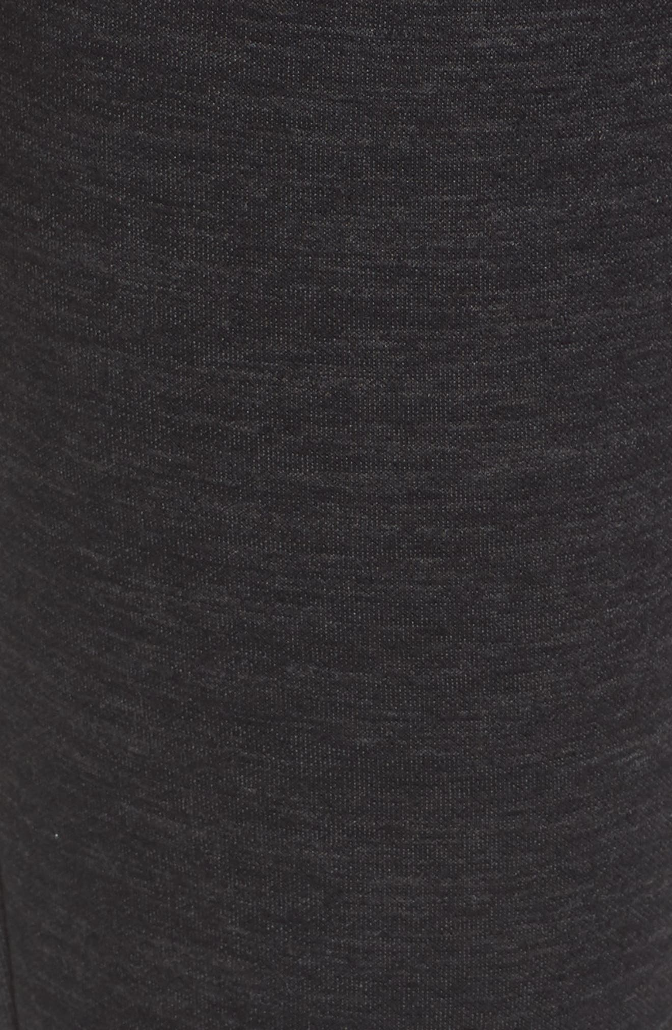 ID Slim Sweatpants,                             Alternate thumbnail 6, color,                             BLACK/ GREY FIVE