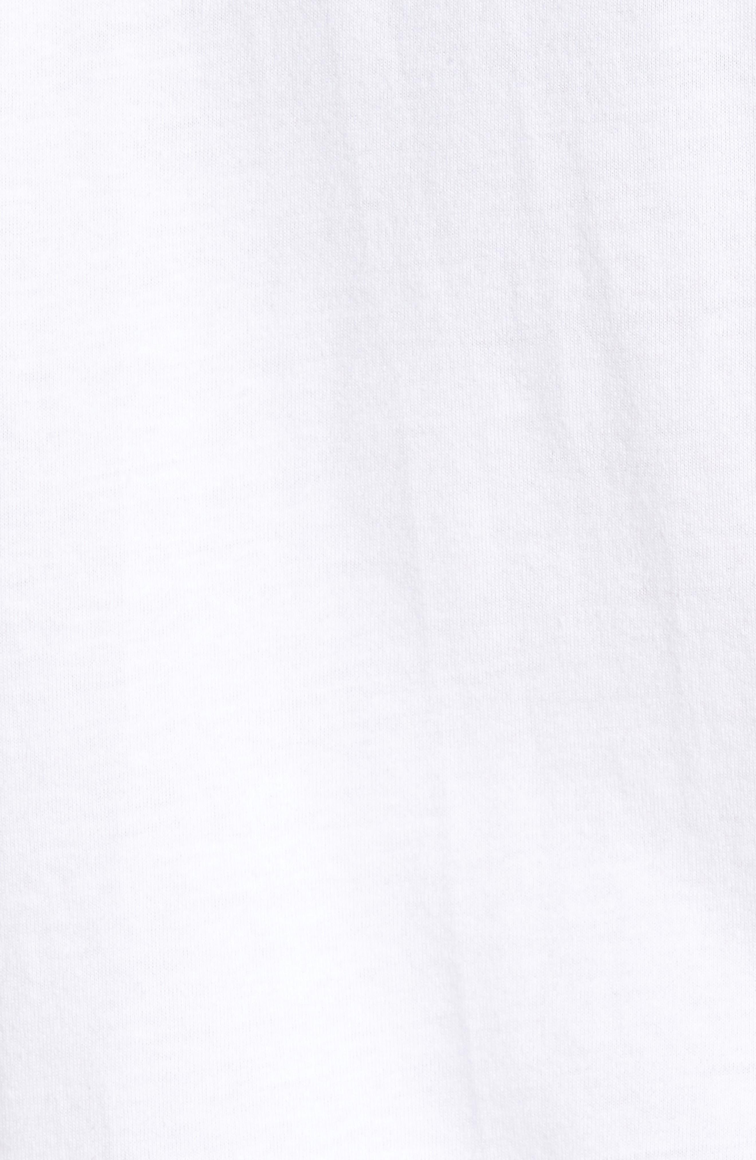 True Religion Silver Buddha T-Shirt,                             Alternate thumbnail 14, color,