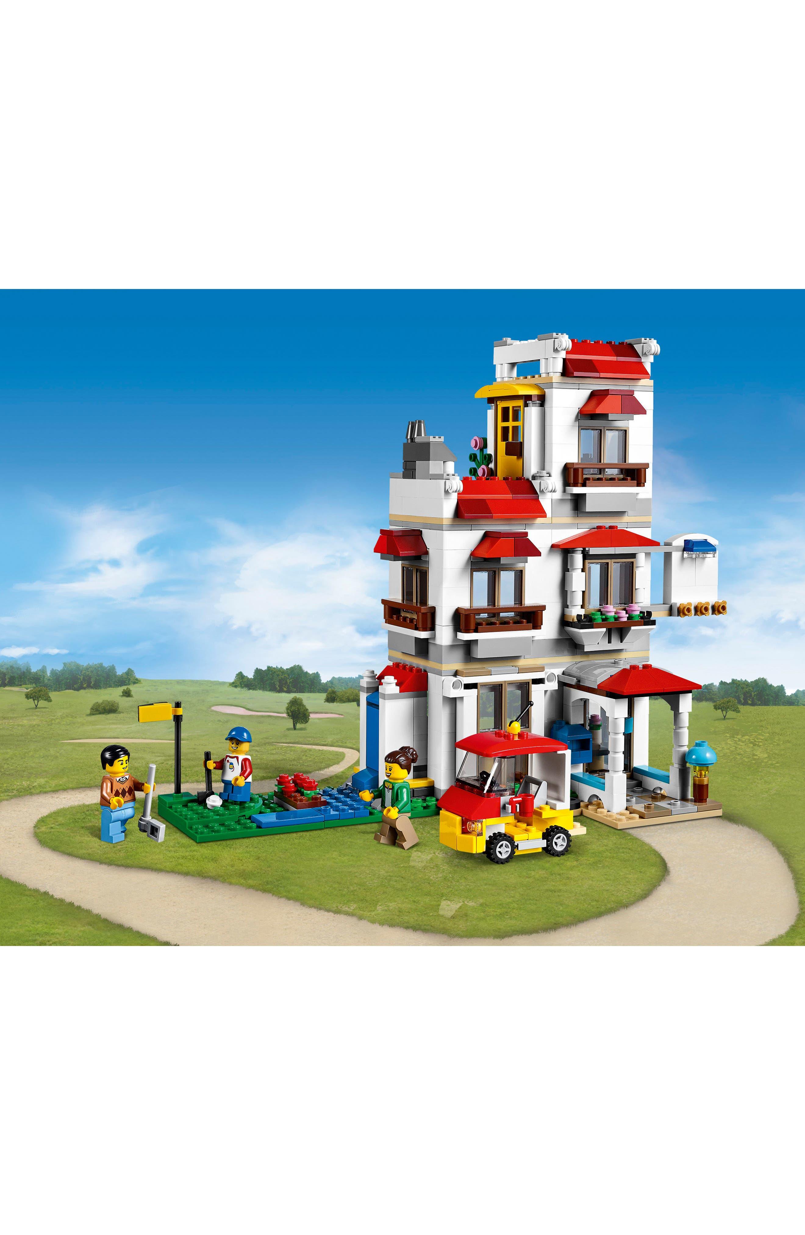 Creator Modular Family Villa Play Set - 31069,                             Alternate thumbnail 2, color,                             100