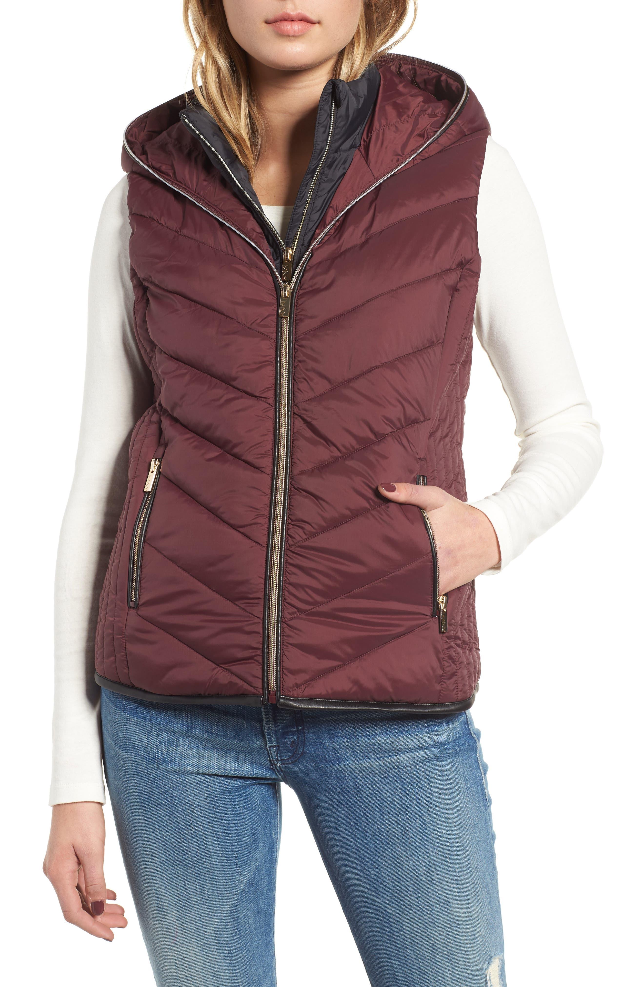 Hooded Puffer Vest,                             Alternate thumbnail 4, color,                             619