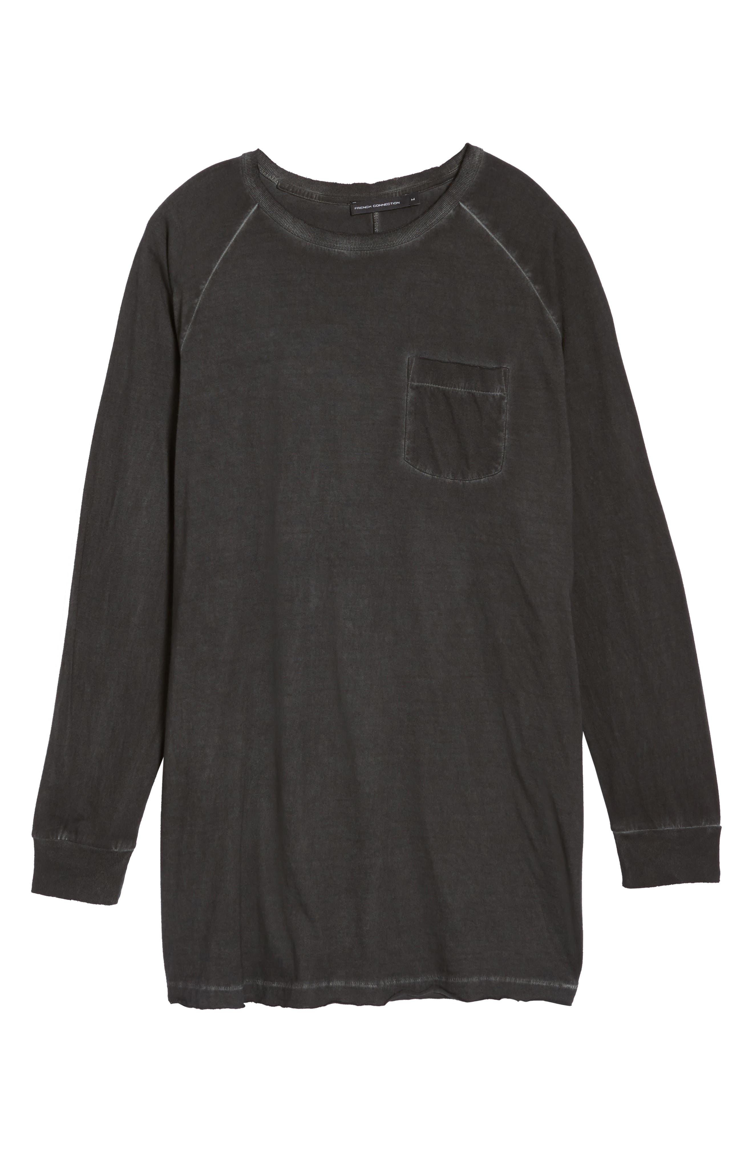 Pigment Dye Longline T-Shirt,                             Alternate thumbnail 11, color,