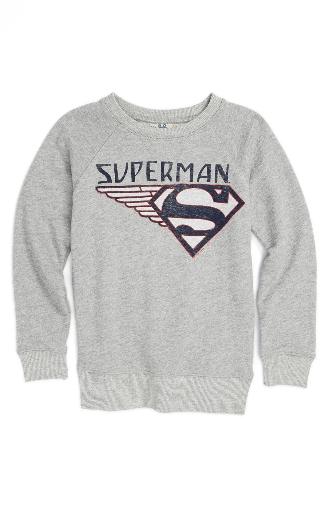 'Superman' Sweatshirt,                             Main thumbnail 1, color,                             082