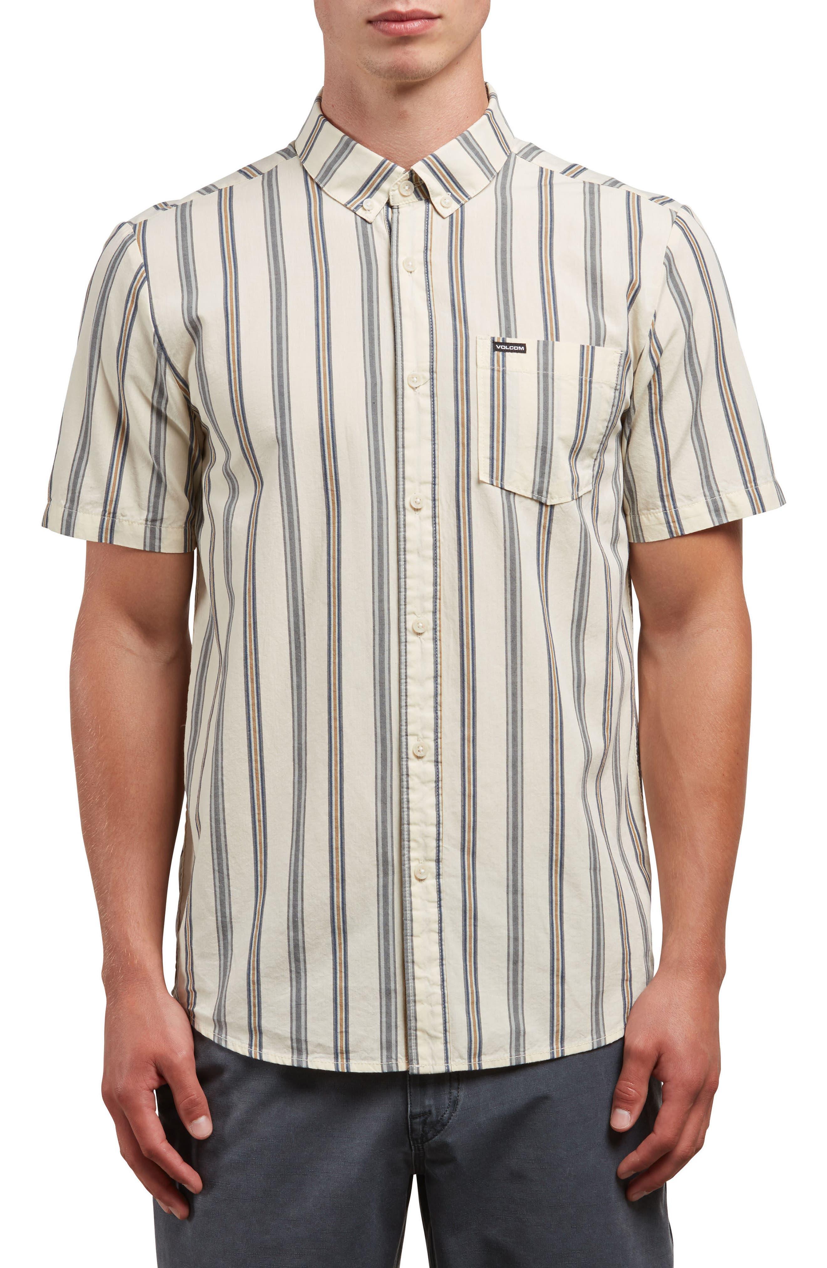 Mix Bag Woven Shirt,                         Main,                         color, WHITE FLASH