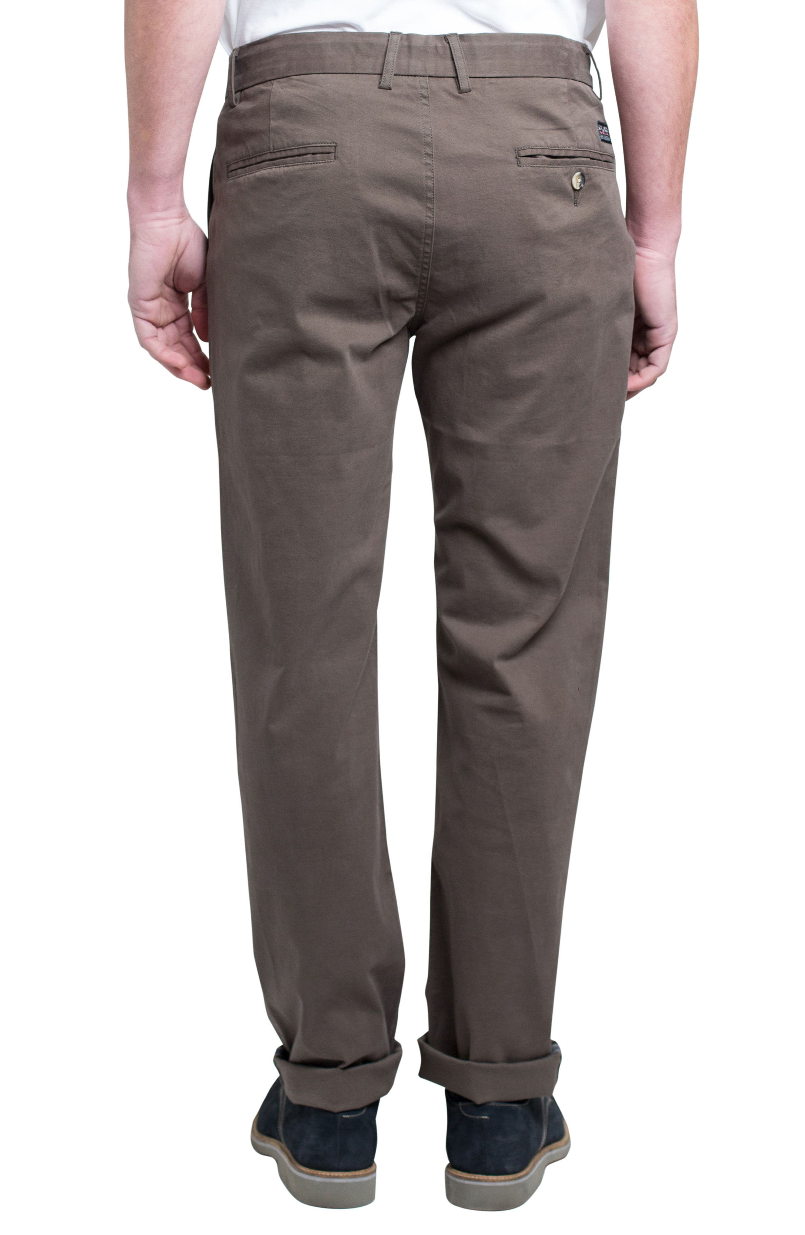 Slim Fit Stretch Chinos,                             Alternate thumbnail 20, color,