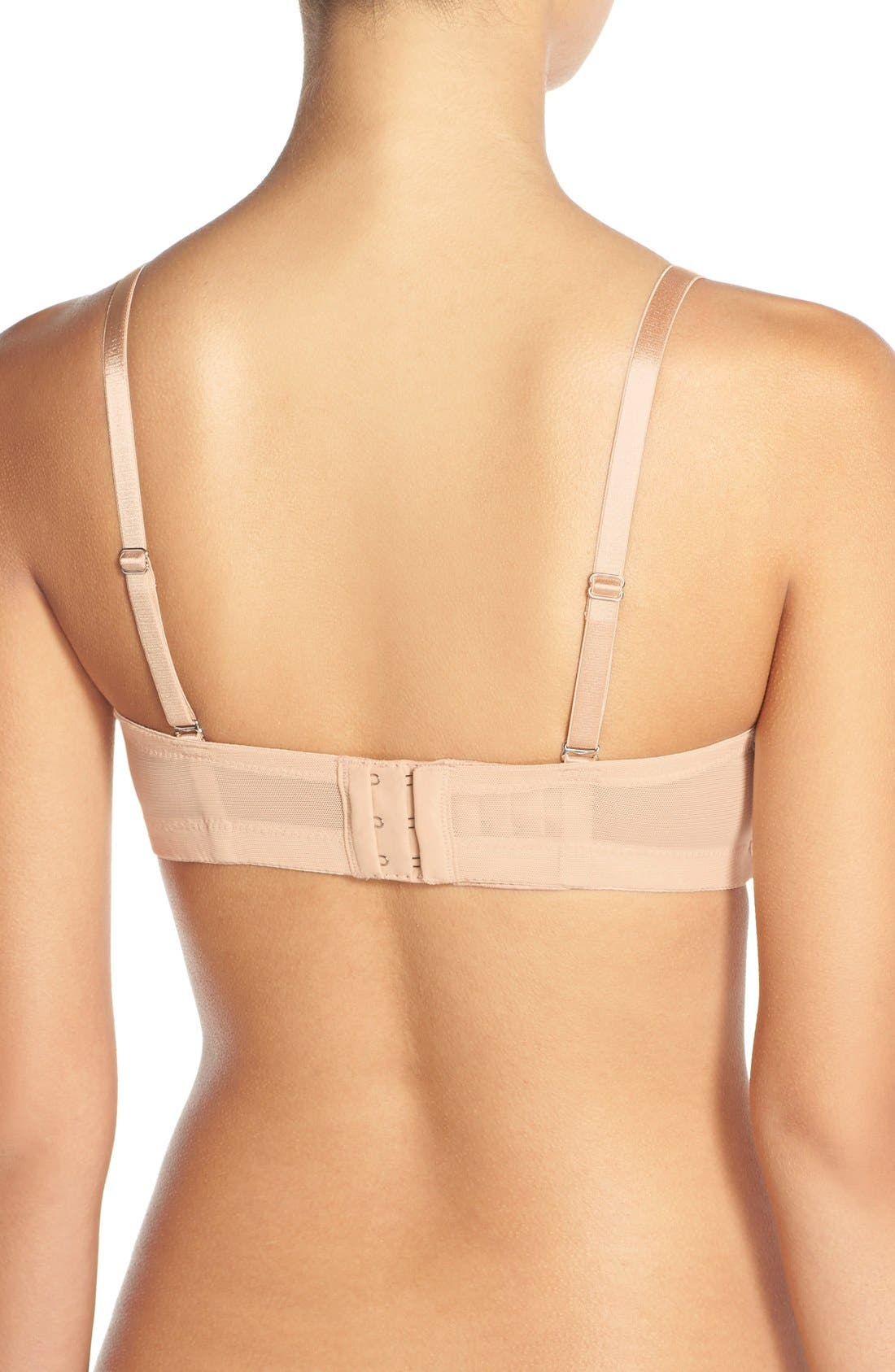 Forever Yours Convertible Underwire Nursing Bra,                             Alternate thumbnail 2, color,                             NUDE