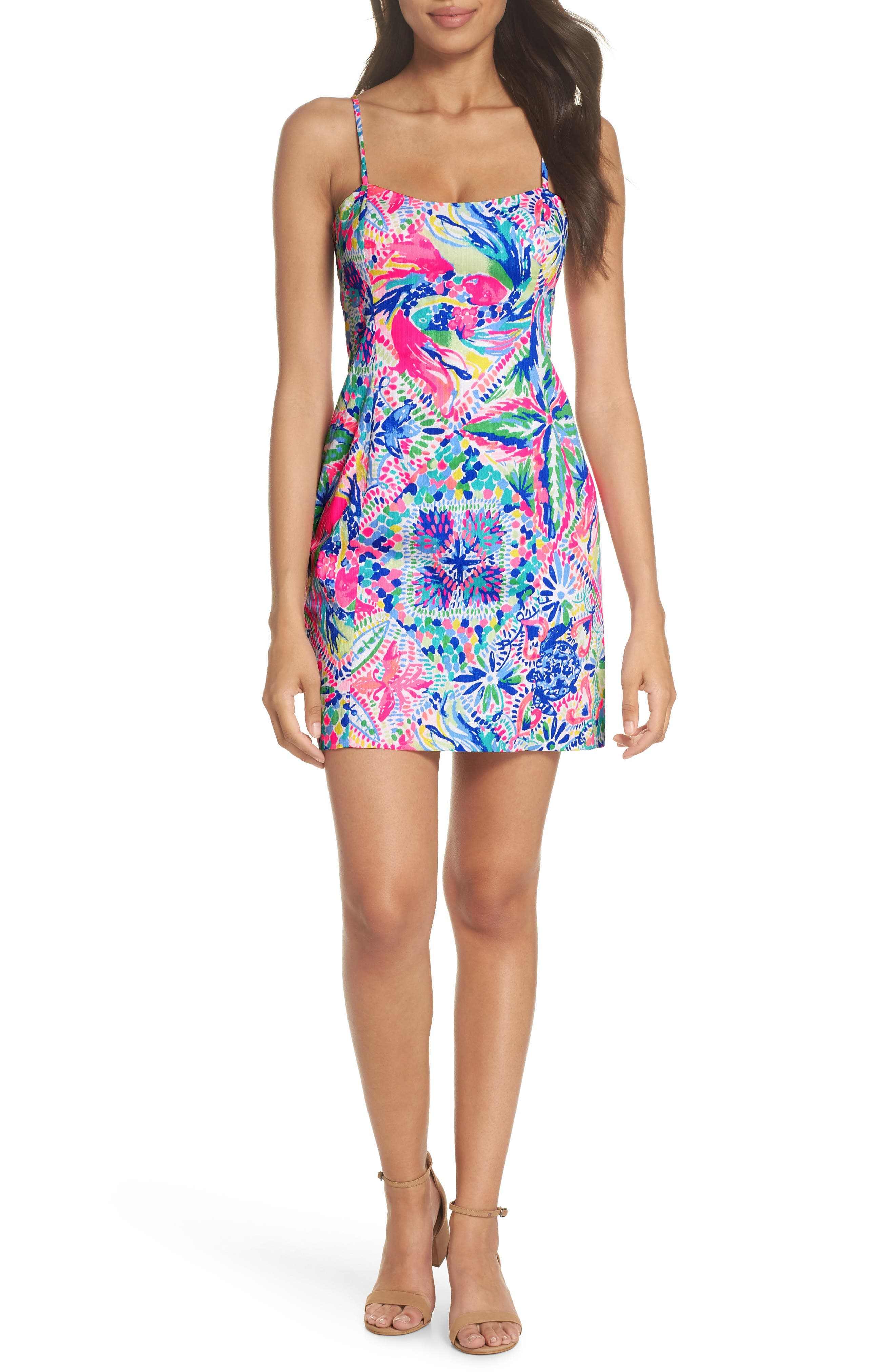 LILLY PULITZER<SUP>®</SUP> Shelli Sundress, Main, color, 660
