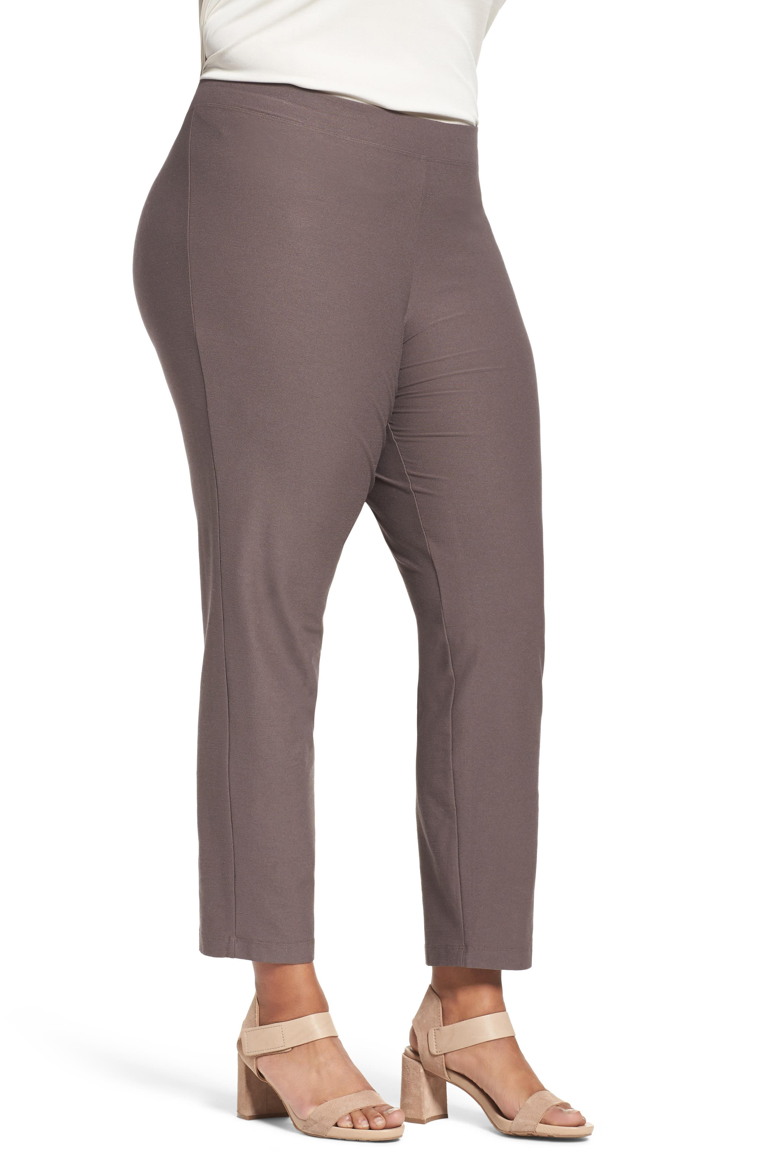 Slim Washable Stretch Crepe Ankle Pants,                             Alternate thumbnail 22, color,