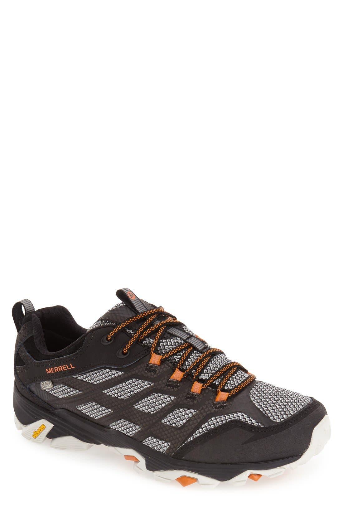 Moab FST Waterproof Hiking Shoe,                         Main,                         color, 001