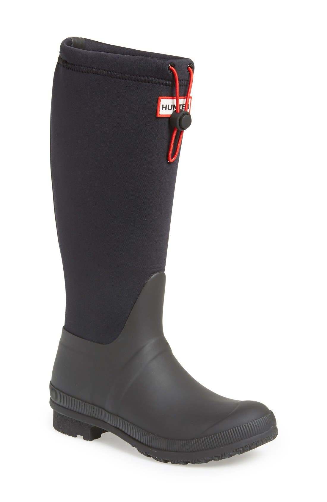 'Original Tour' Neoprene Waterproof Boot, Main, color, 001