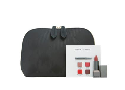 Burberry gift with purchase.