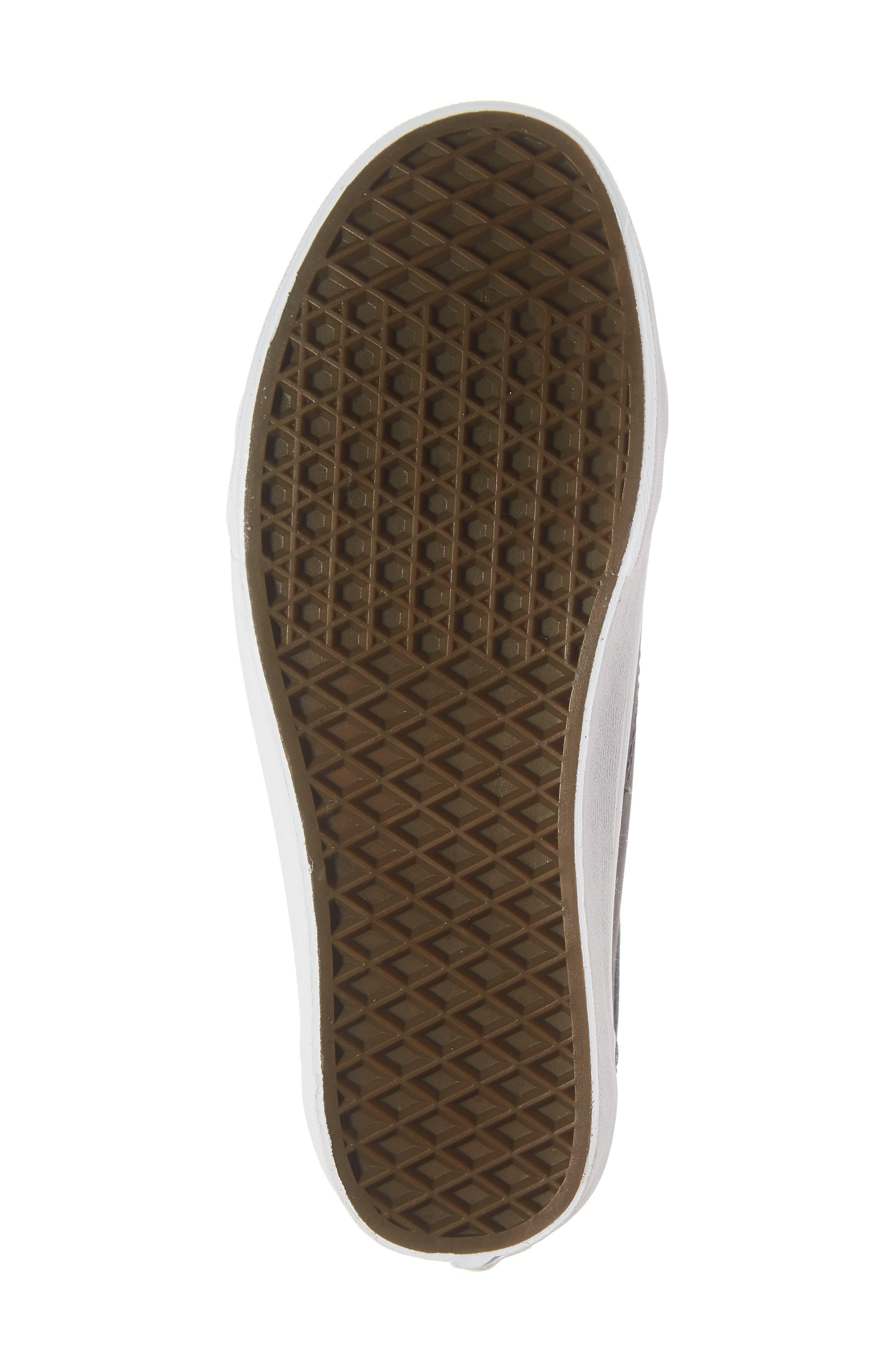 Buck Old Skool Sneaker,                             Alternate thumbnail 6, color,                             021