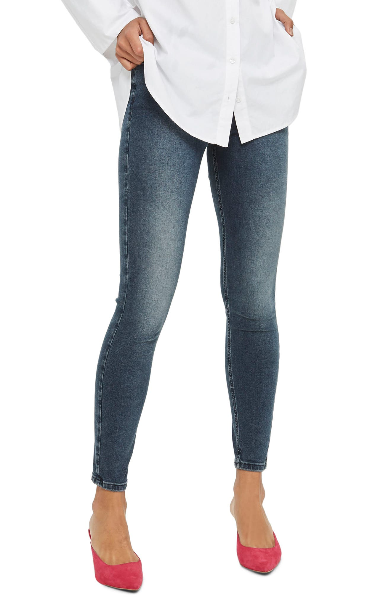 TOPSHOP Jamie Jeans, Main, color, 421