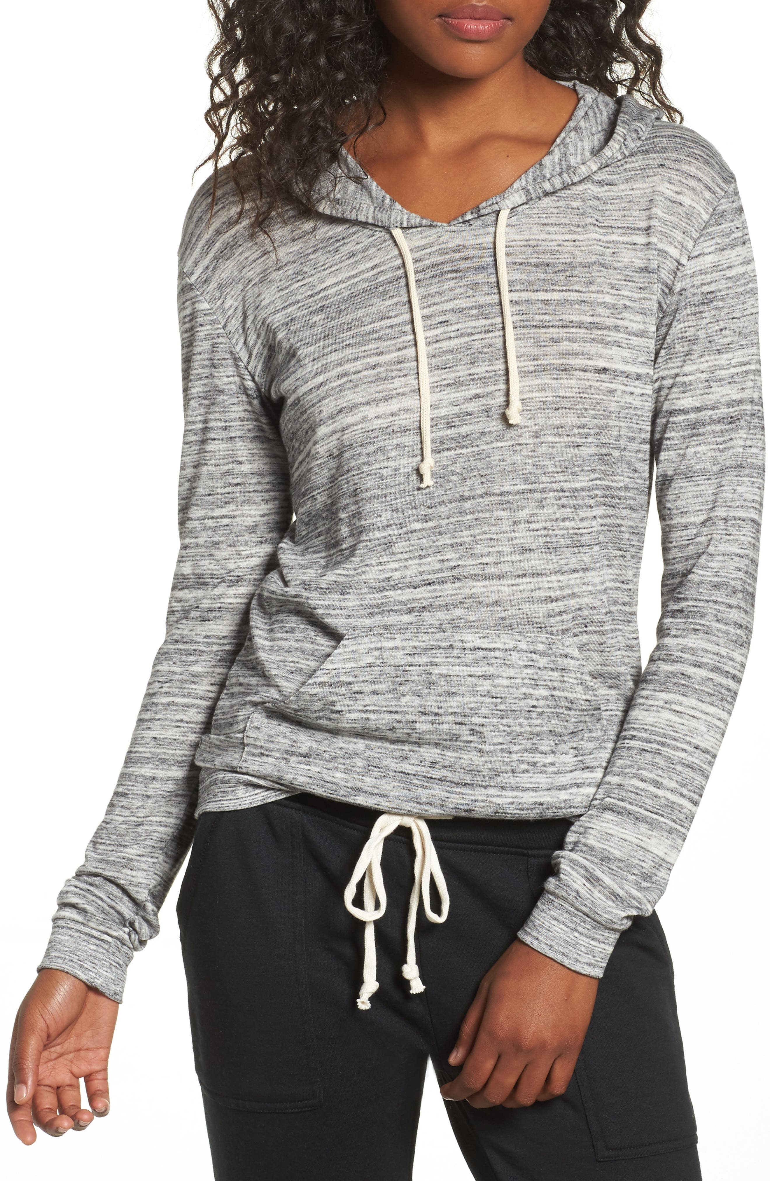 Mottled Pullover Hoodie,                             Main thumbnail 1, color,                             061