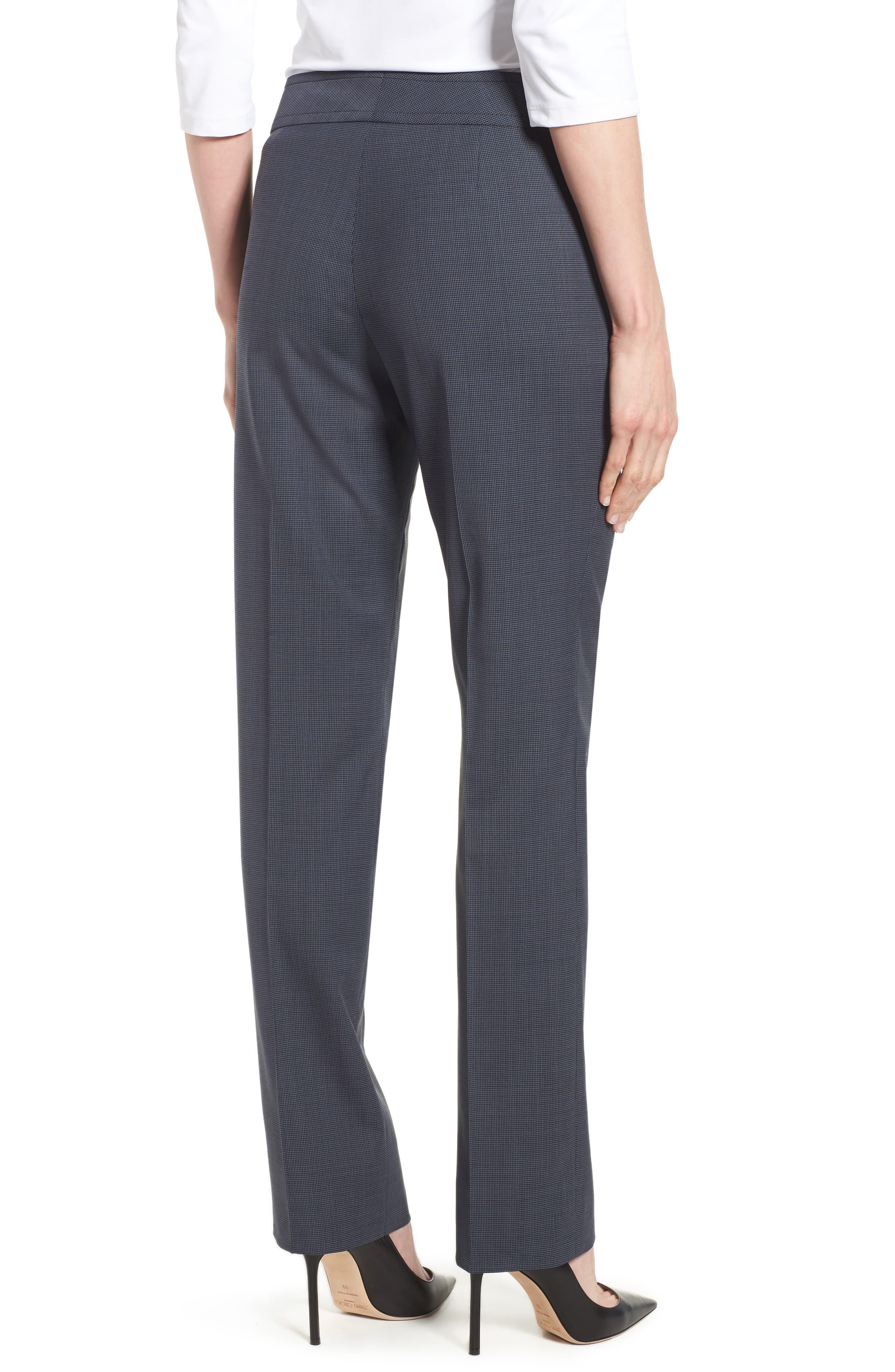 Talouise Pepita Stretch Wool Suit Pants,                             Alternate thumbnail 2, color,                             462