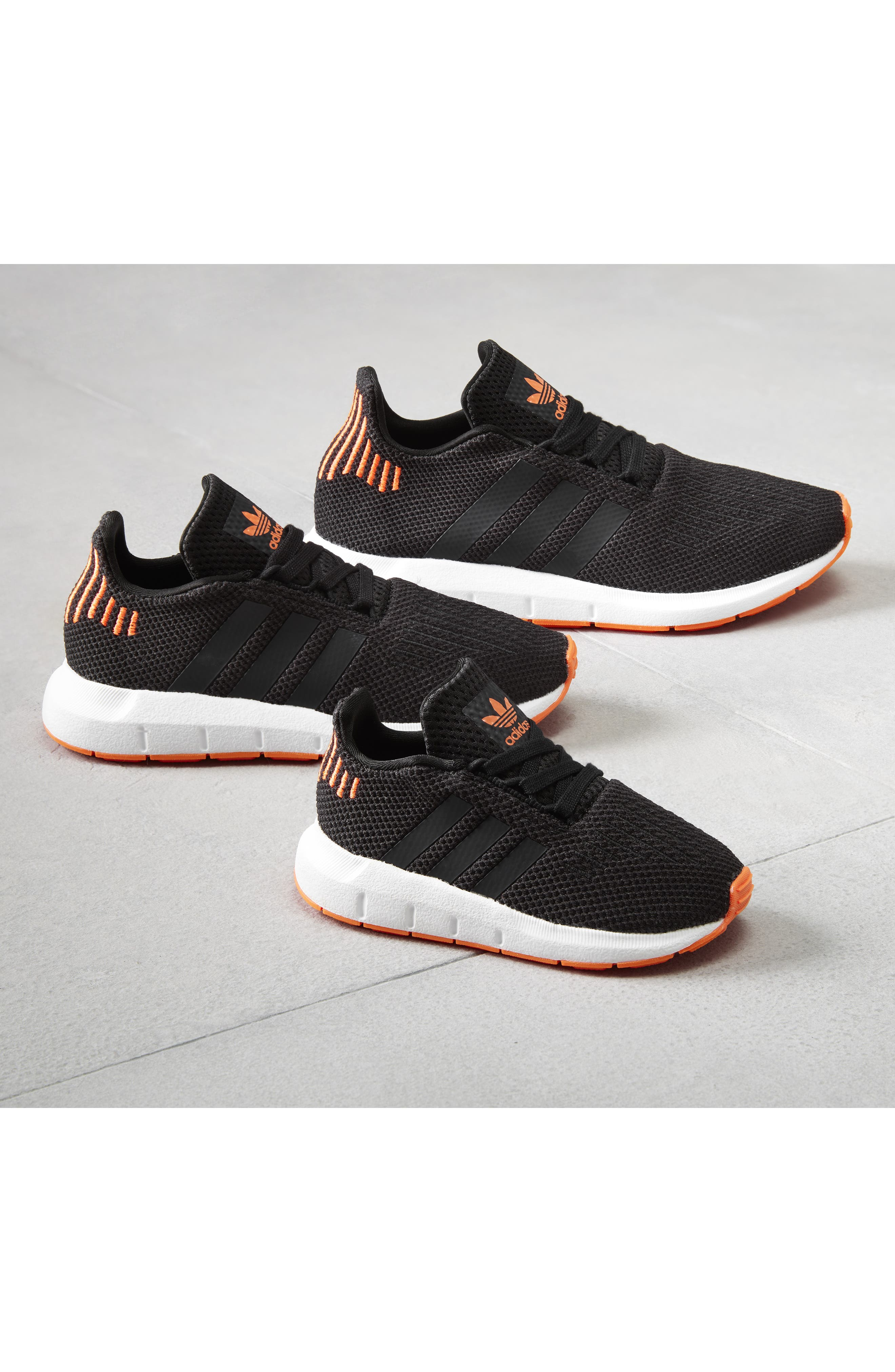 Swift Run J Sneaker,                             Alternate thumbnail 14, color,                             SEMI SOLAR PINK/ WHITE