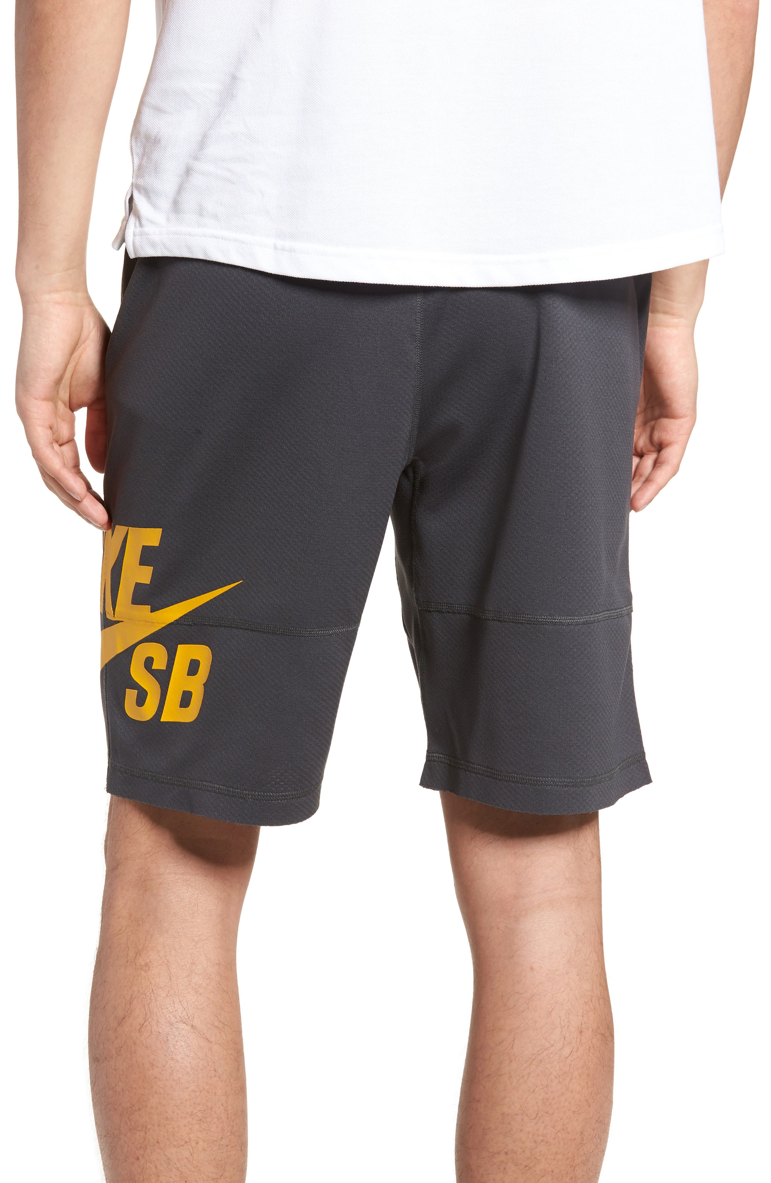 Sunday Dri-FIT Shorts,                             Alternate thumbnail 2, color,                             ANTHRACITE/ YELLOW OCHRE
