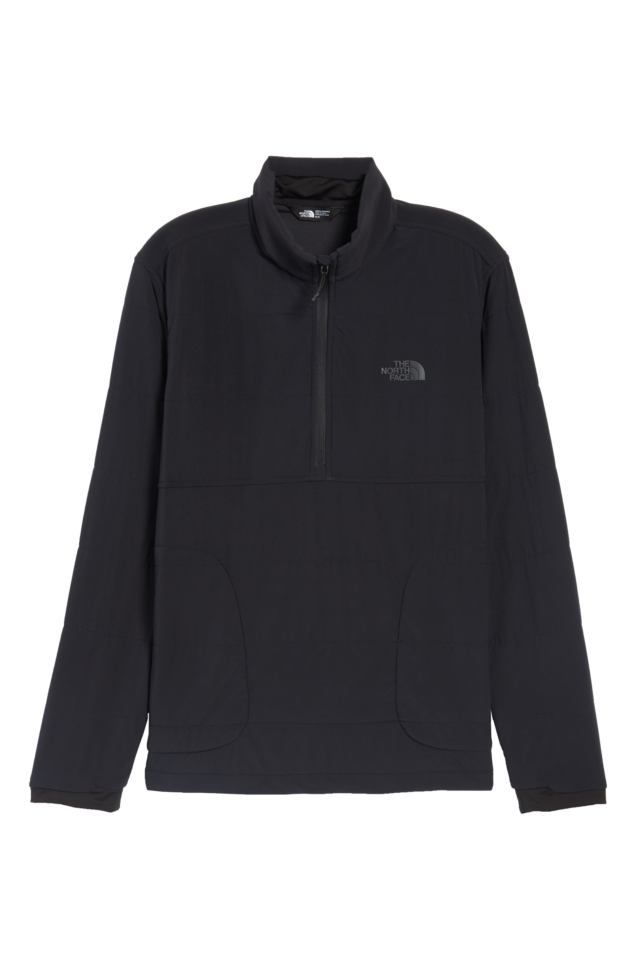 THE NORTH FACE,                             Mountain Quarter Zip Pullover,                             Alternate thumbnail 6, color,                             001