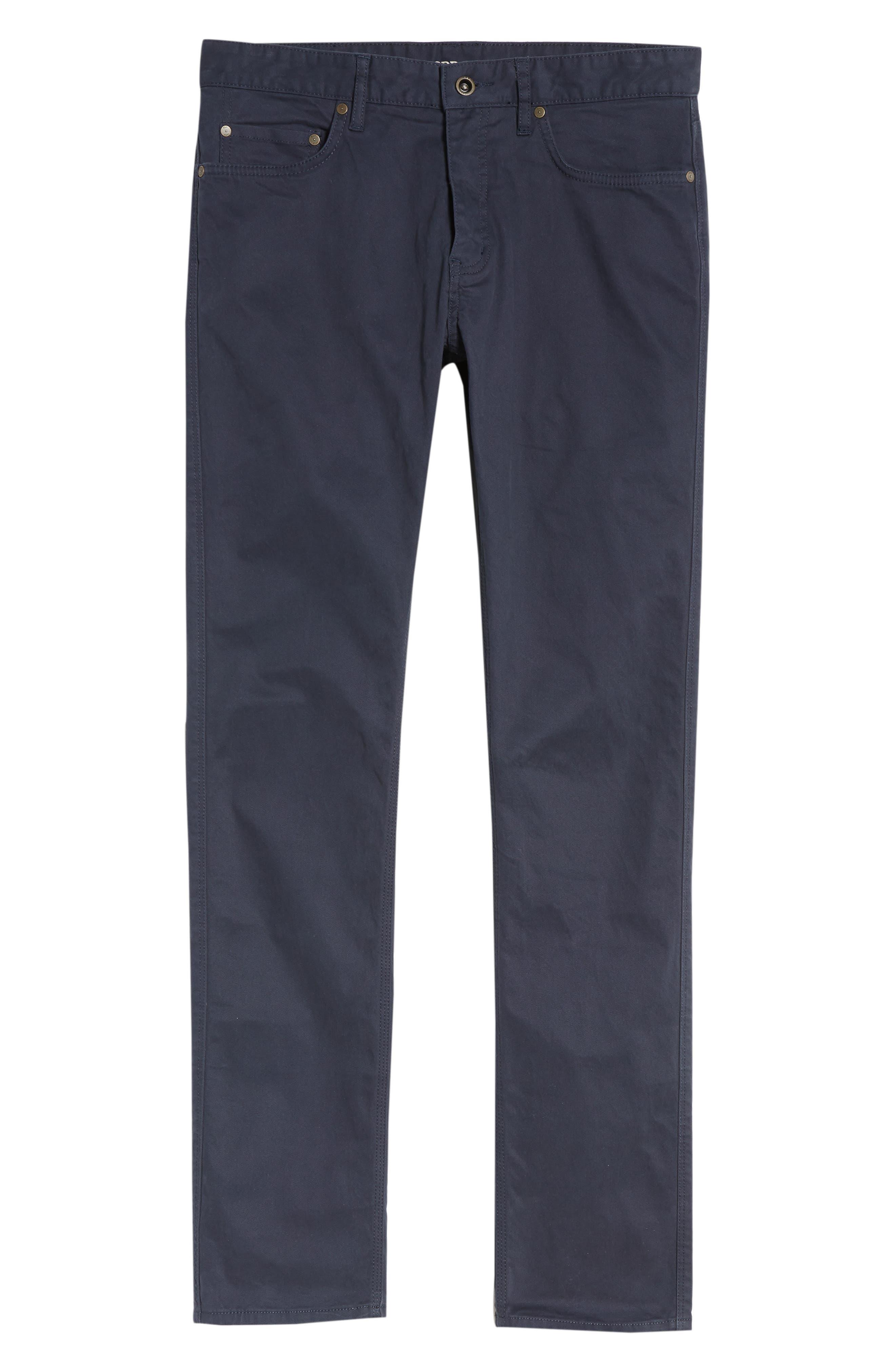 Fencourt Regular Fit Straight Leg Jeans,                             Alternate thumbnail 6, color,                             MIDNIGHT