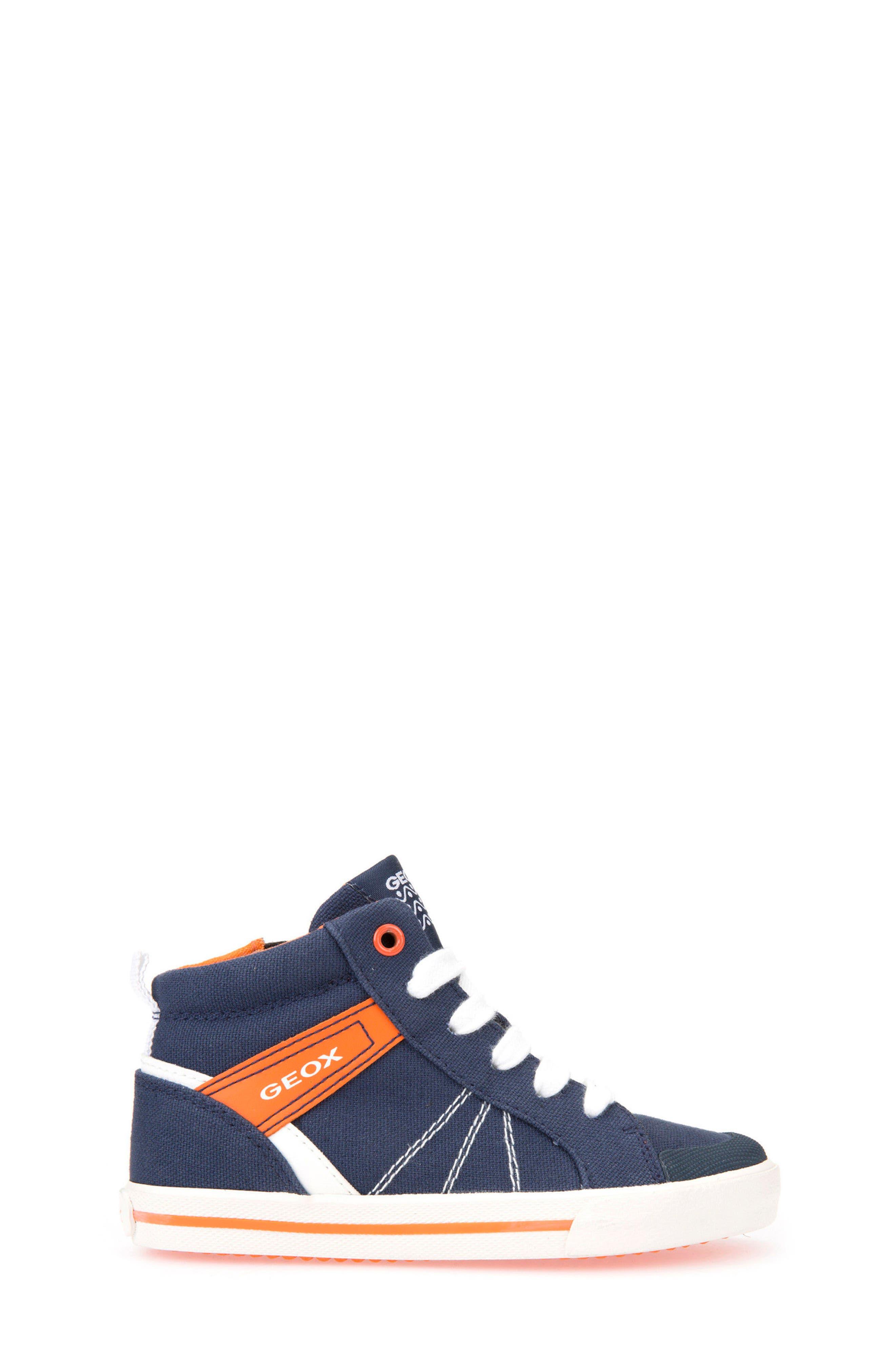 Kilwi Zip High Top Sneaker,                             Alternate thumbnail 3, color,                             402