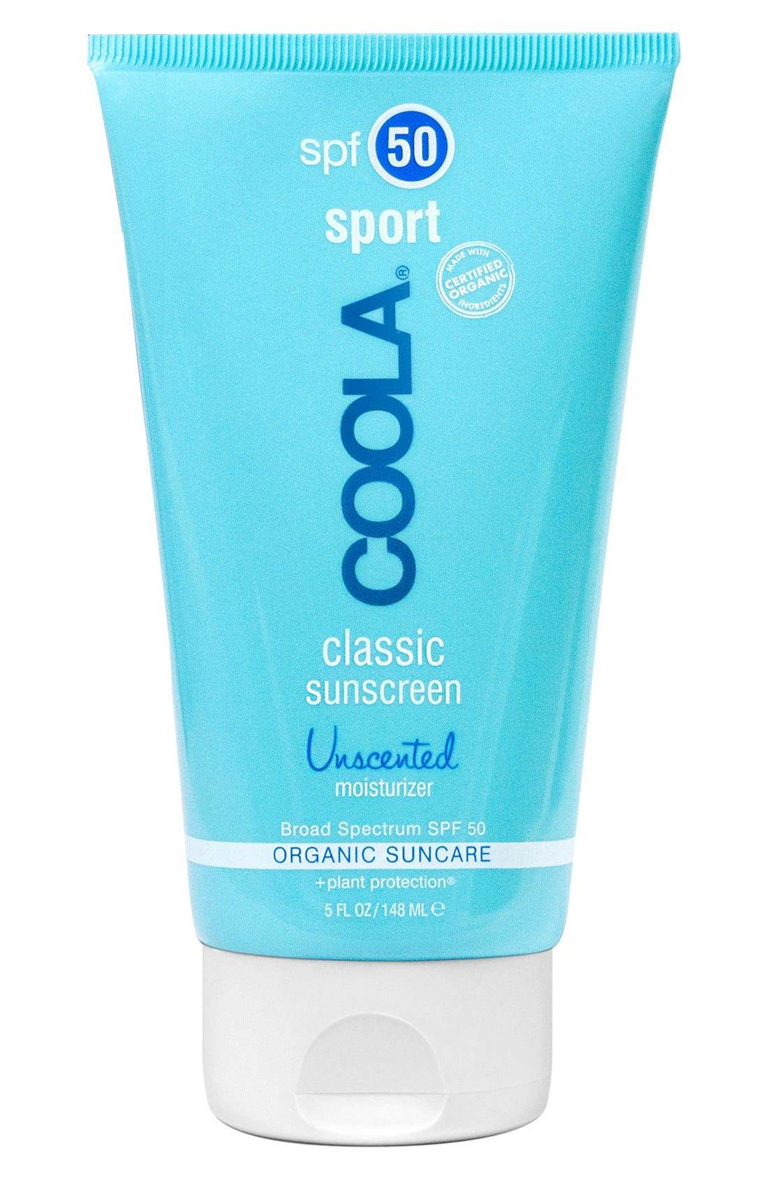 COOLA<sup>®</sup> Suncare Sport Classic Sunscreen SPF 50,                             Main thumbnail 1, color,                             UNSCENTED