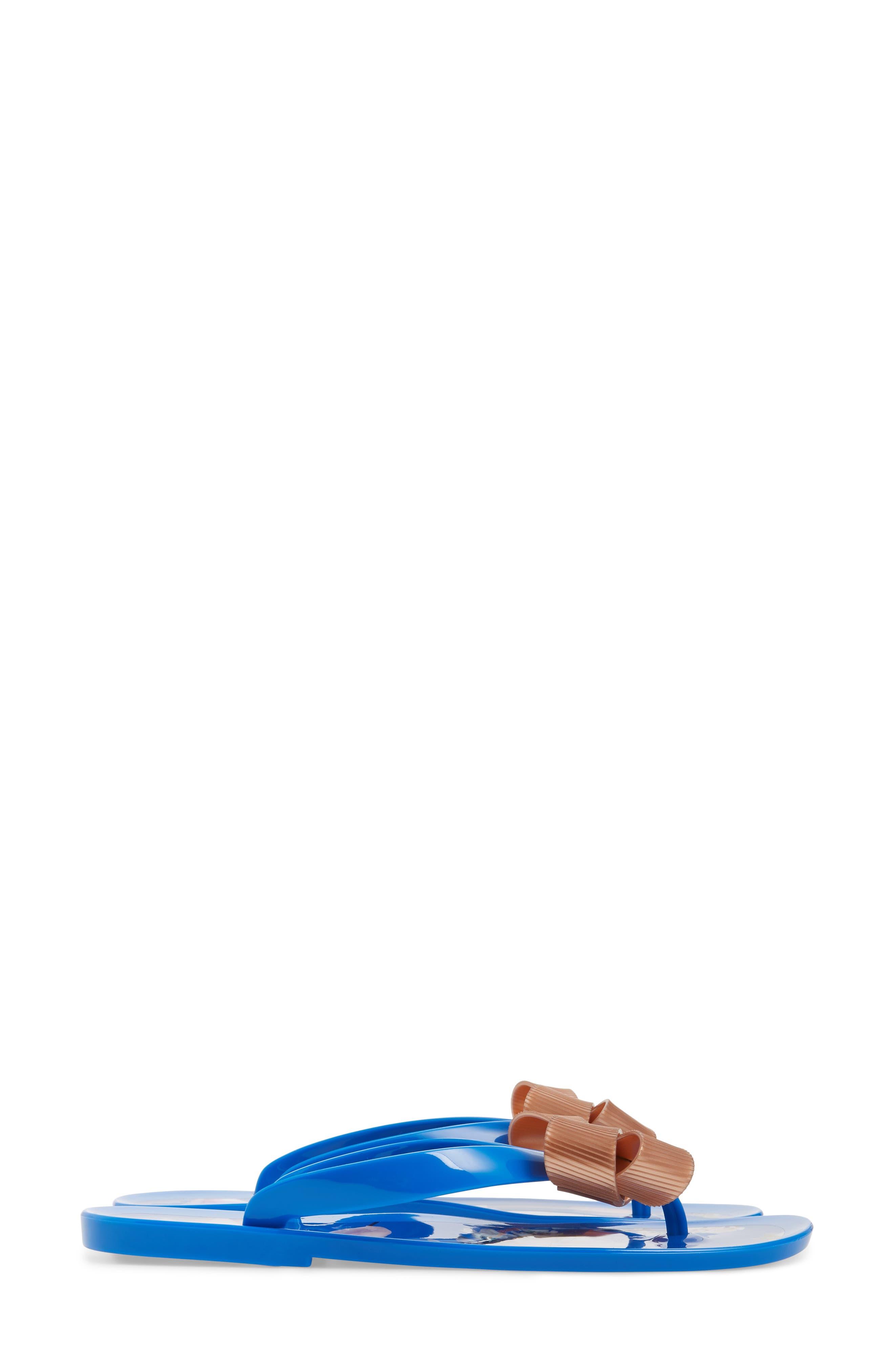 Suziep Flip Flop,                             Alternate thumbnail 3, color,                             BLUE