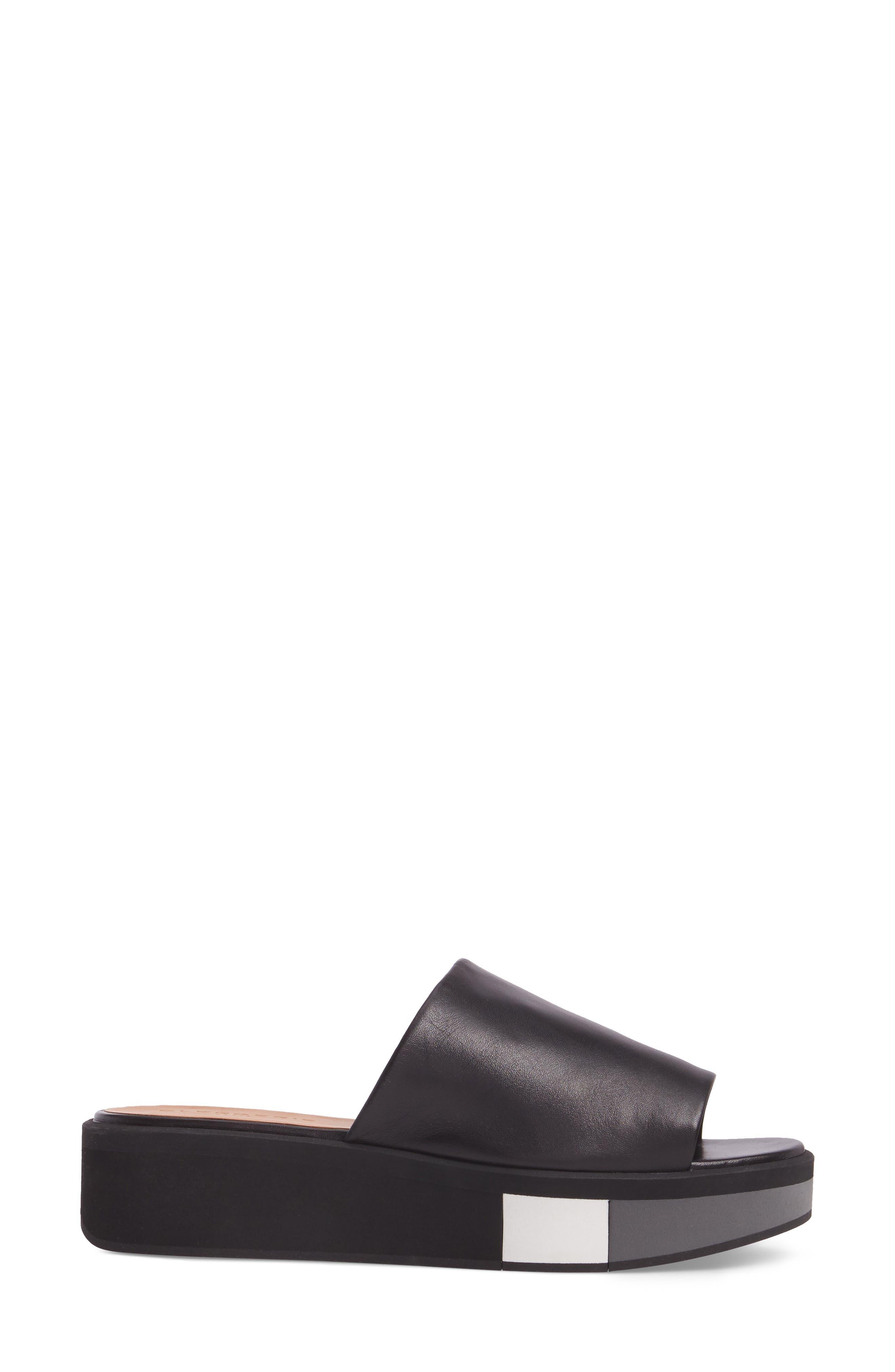 Quenor Platform Sandal,                             Alternate thumbnail 3, color,                             004
