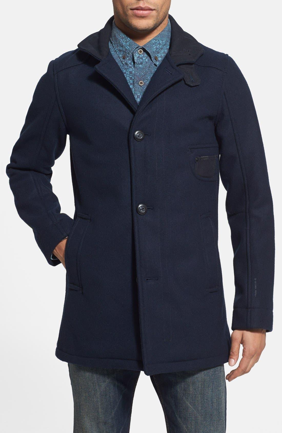 'Radar Garber' Wool Blend Jacket, Main, color, 400