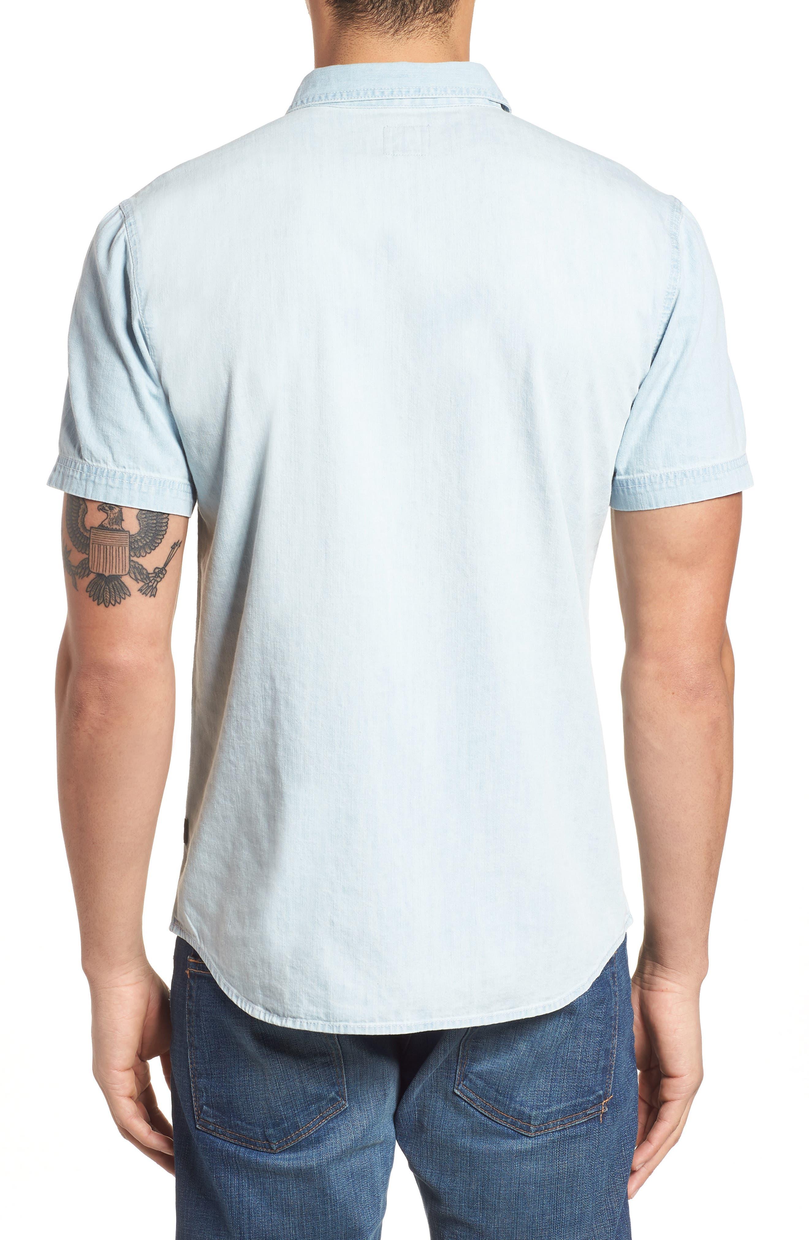 Sabotage Woven Shirt,                             Alternate thumbnail 2, color,                             020