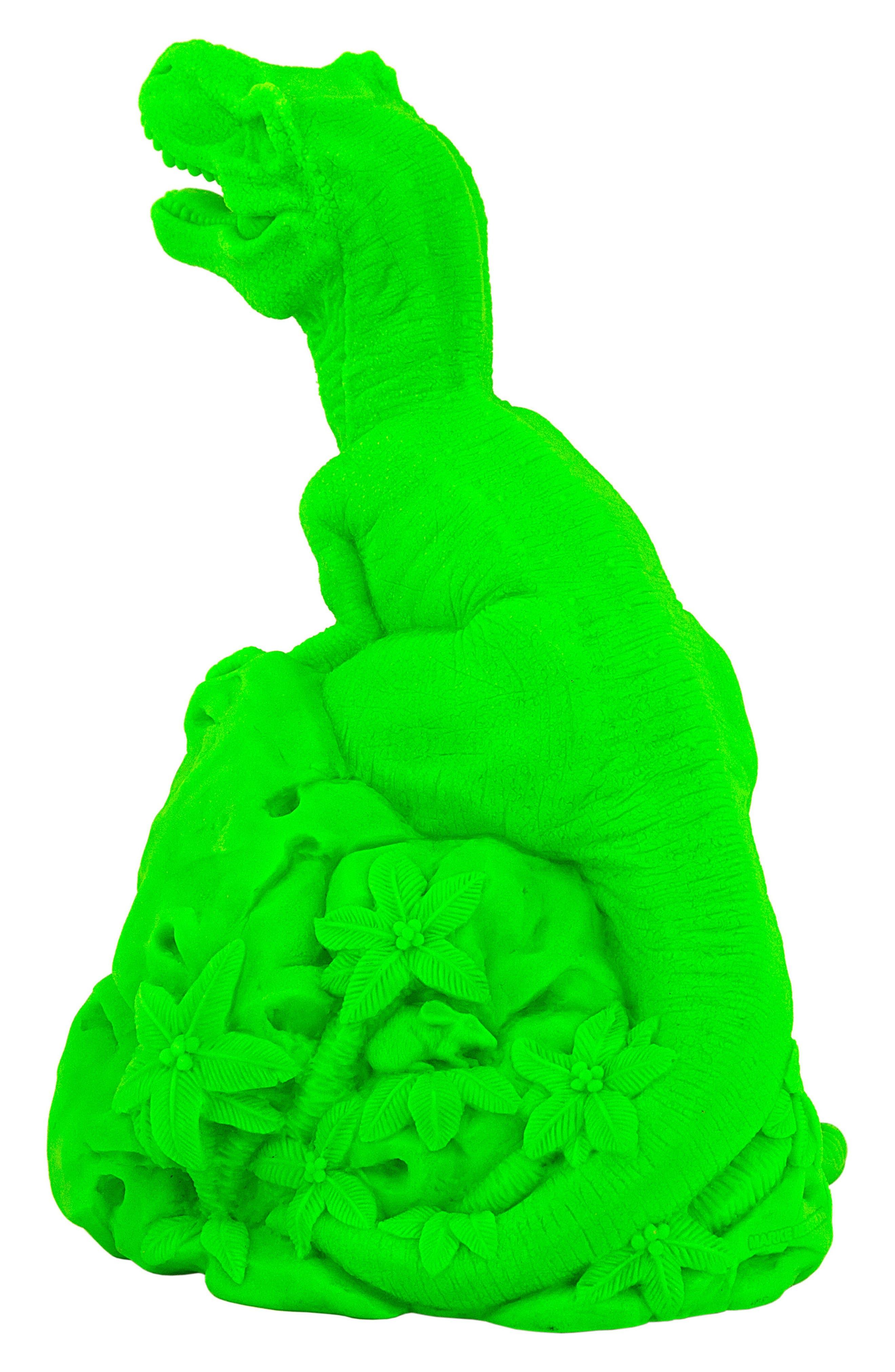 Dino LED Lamp,                             Alternate thumbnail 3, color,                             GREEN