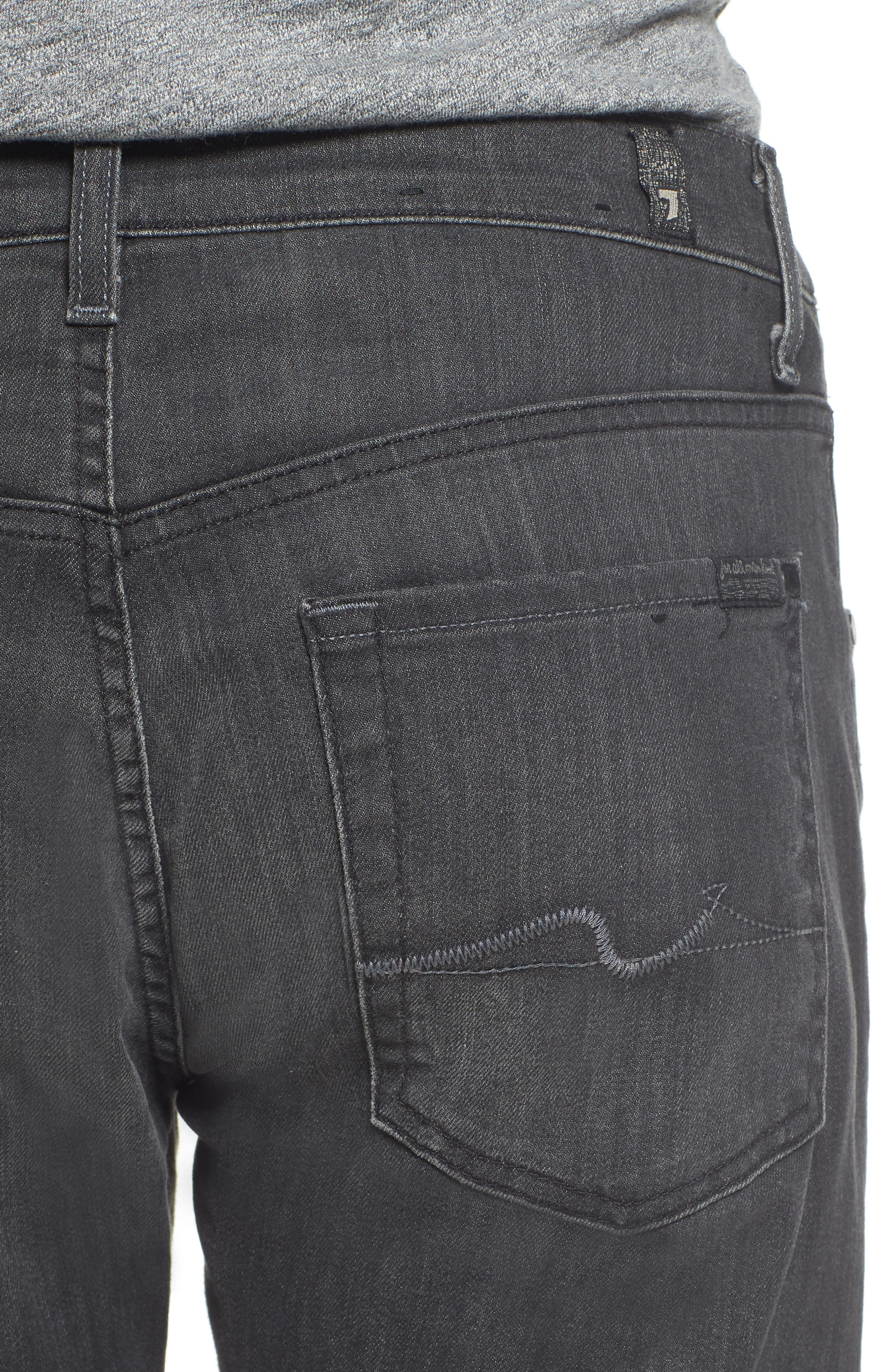 The Straight Slim Straight Leg Jeans,                             Alternate thumbnail 4, color,                             021