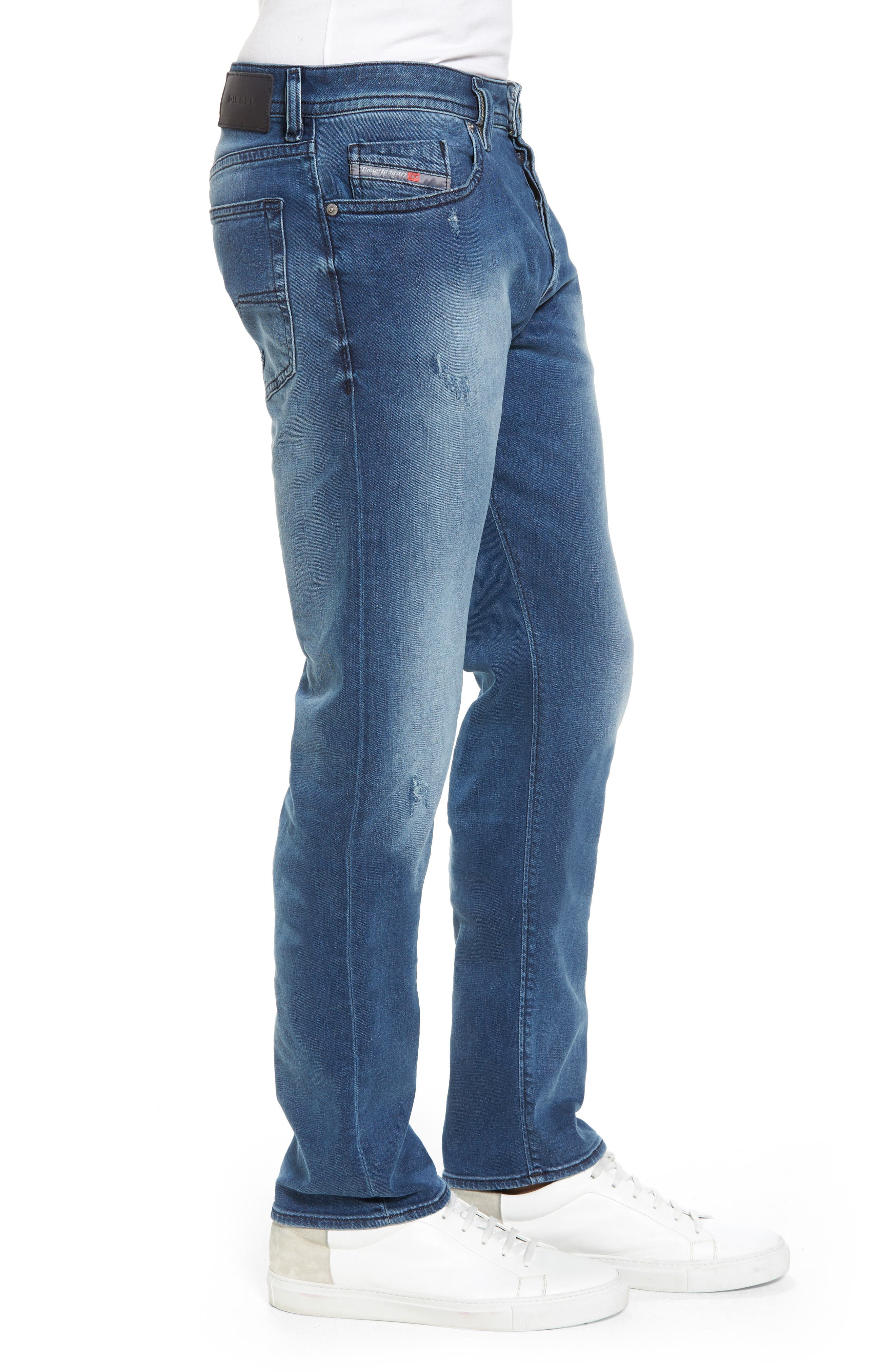 Buster Slim Straight Fit Jeans,                             Alternate thumbnail 3, color,