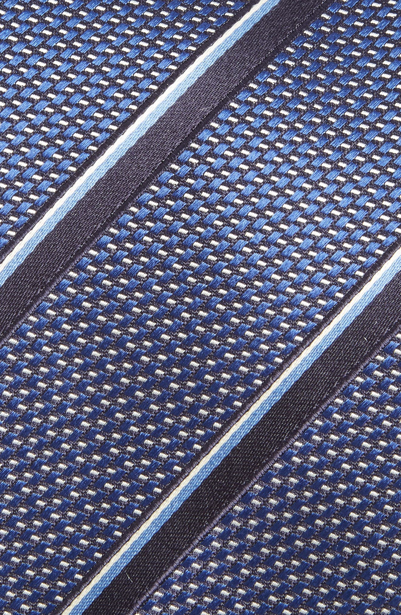 Stripe Silk Tie,                             Alternate thumbnail 2, color,                             410