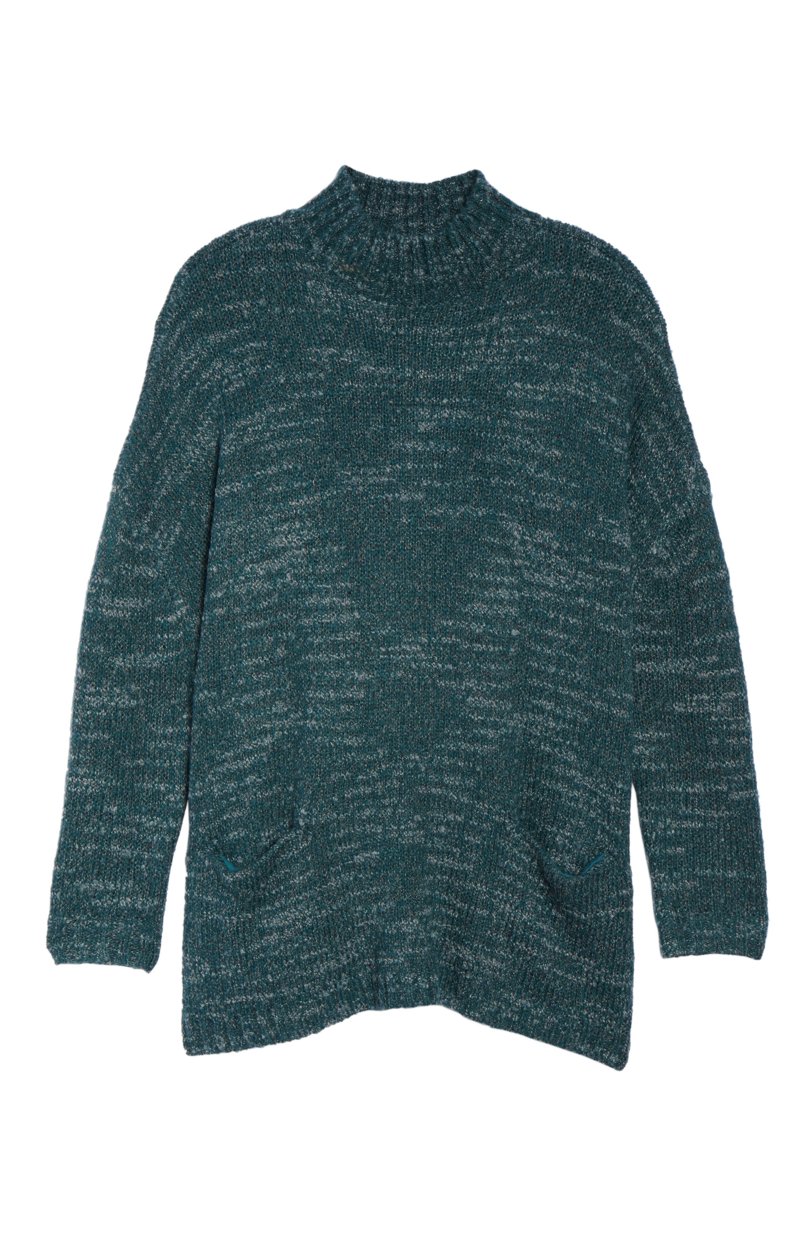 Mock Neck Knit Sweater,                             Alternate thumbnail 17, color,