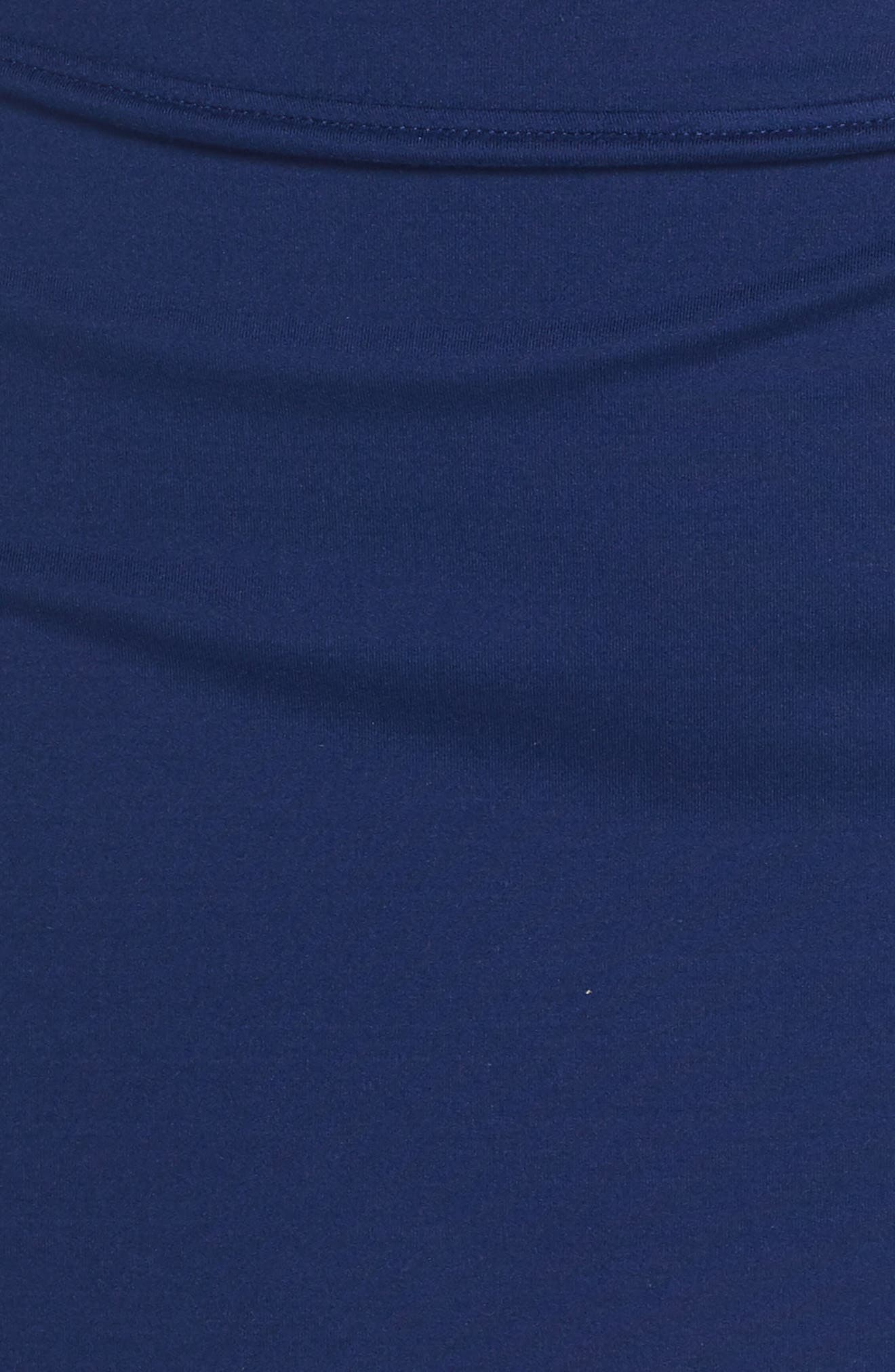 'Pure' Dri-FIT Tennis Skirt,                             Alternate thumbnail 6, color,                             BLUE VOID/ WHITE