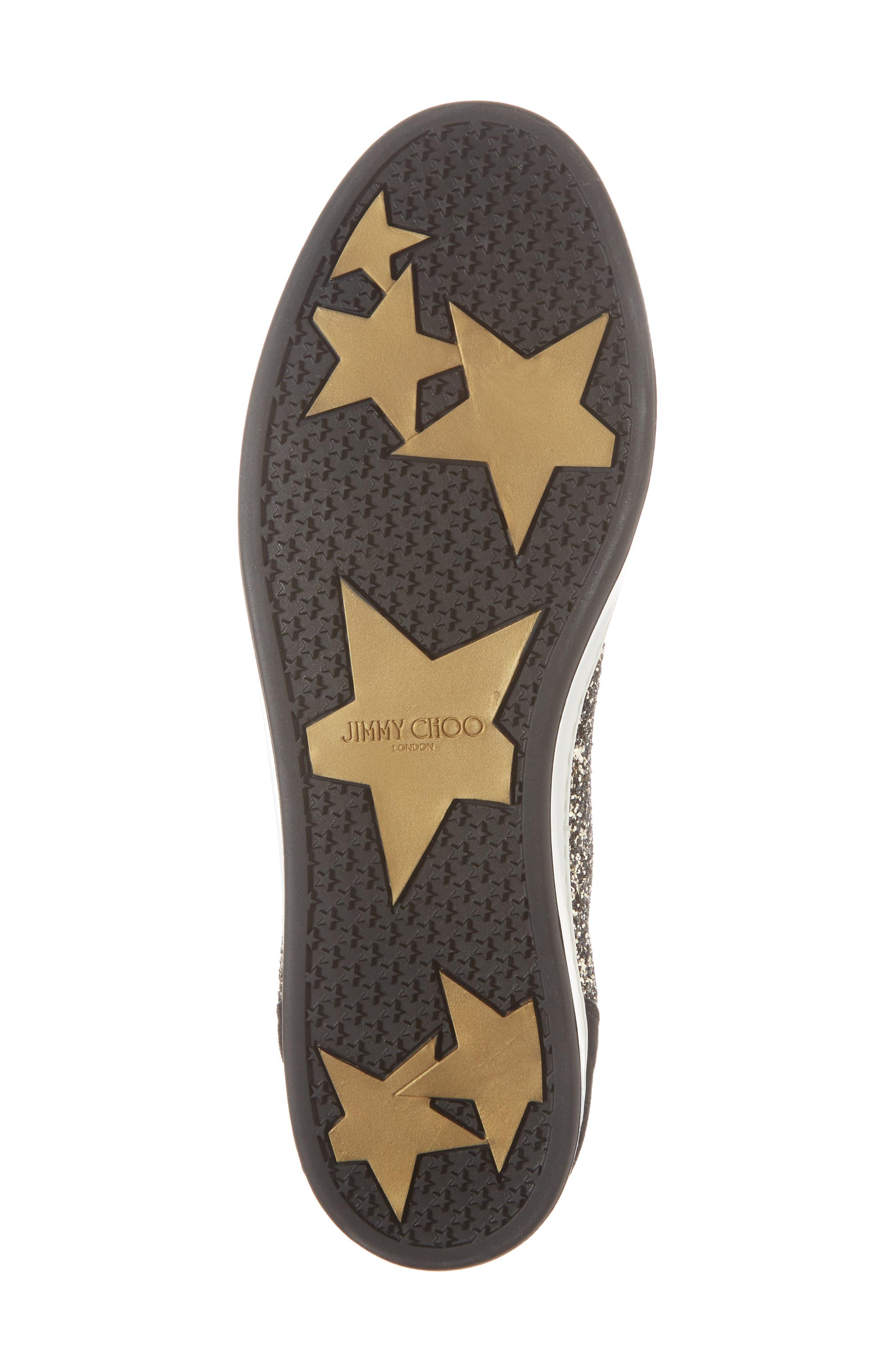 Colt Glitter High Top Sneaker,                             Alternate thumbnail 6, color,                             710