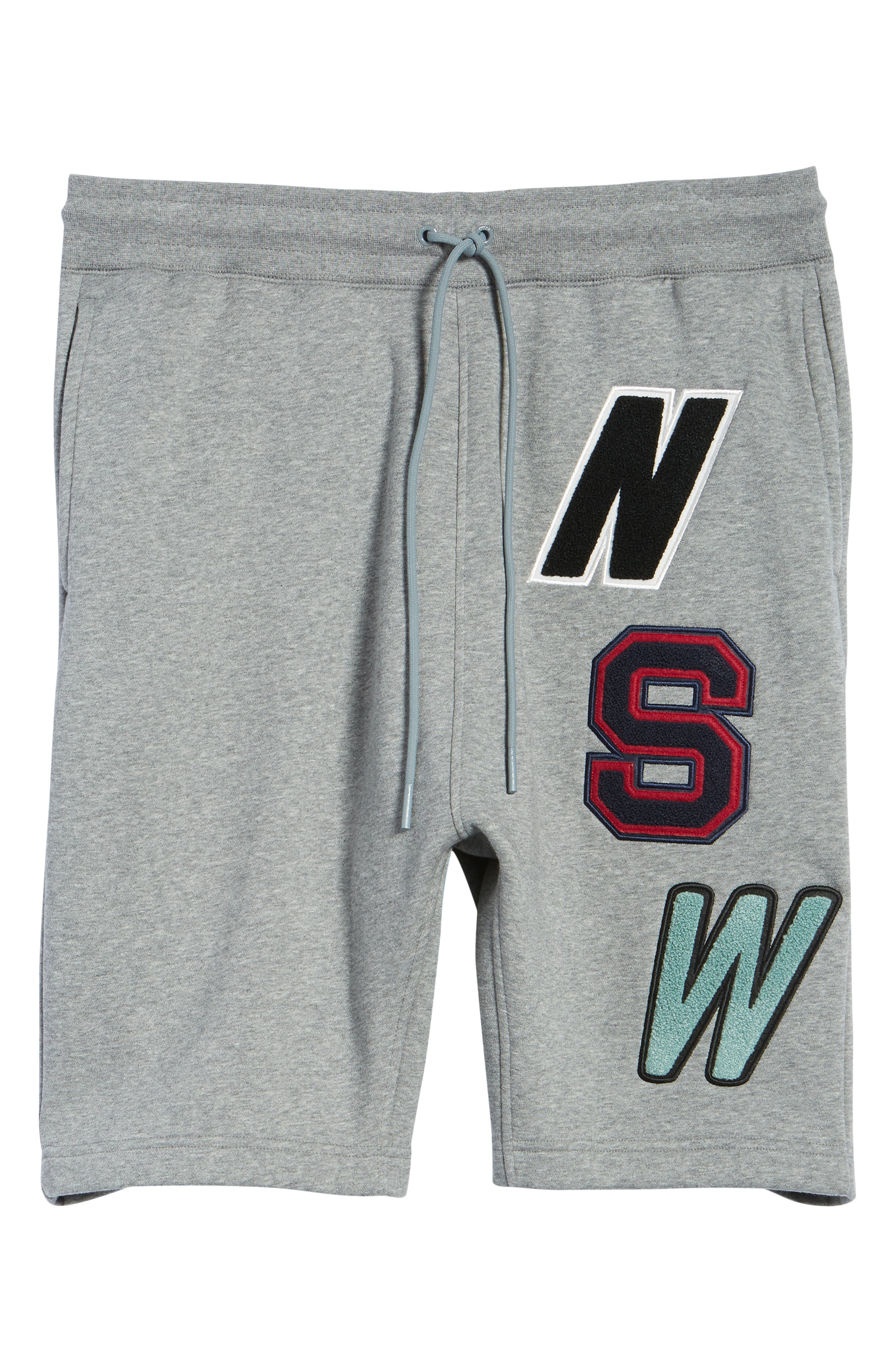 NSW Fleece Shorts,                             Alternate thumbnail 6, color,                             091