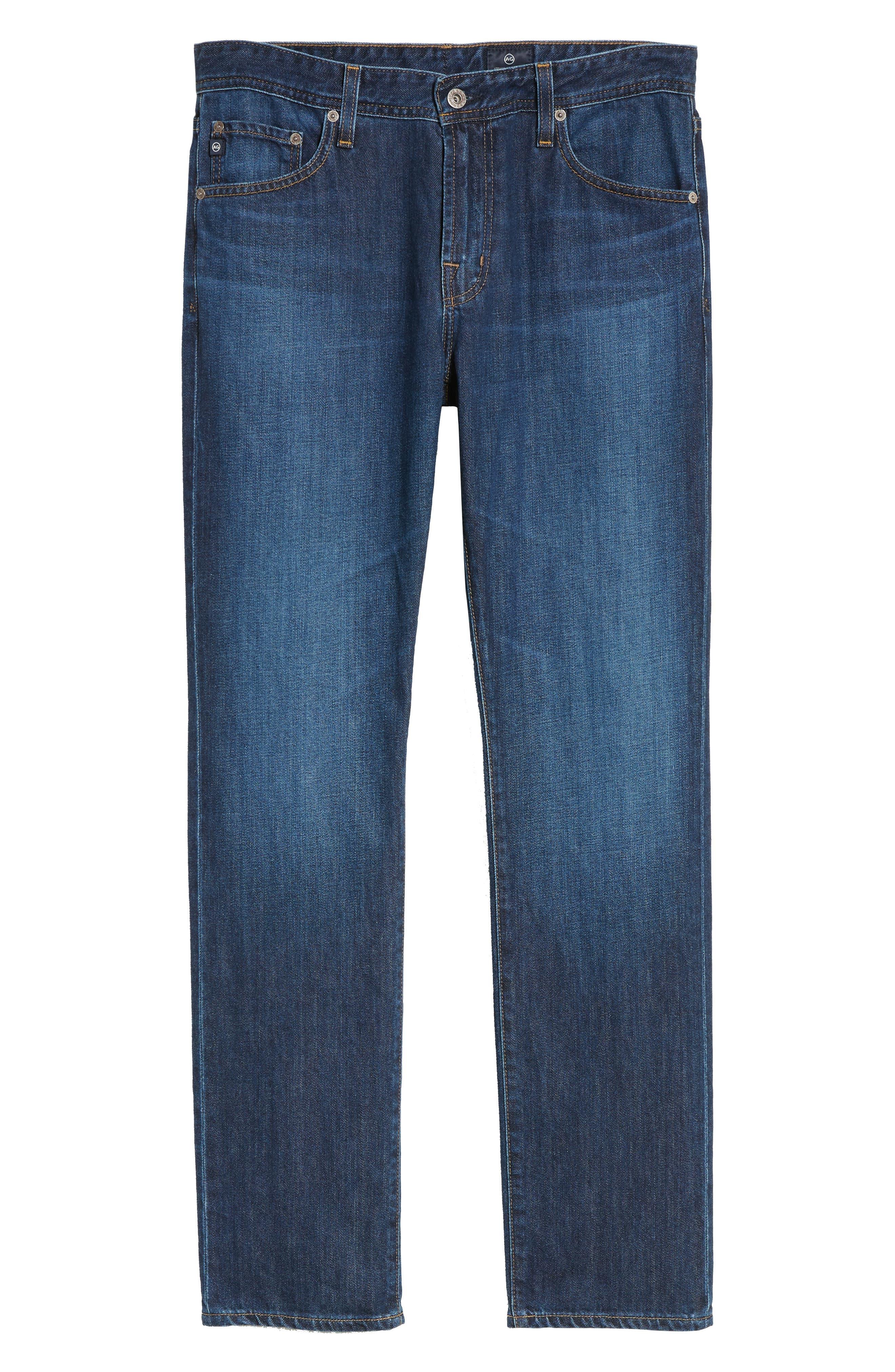 Graduate Slim Straight Leg Jeans,                             Alternate thumbnail 6, color,                             477