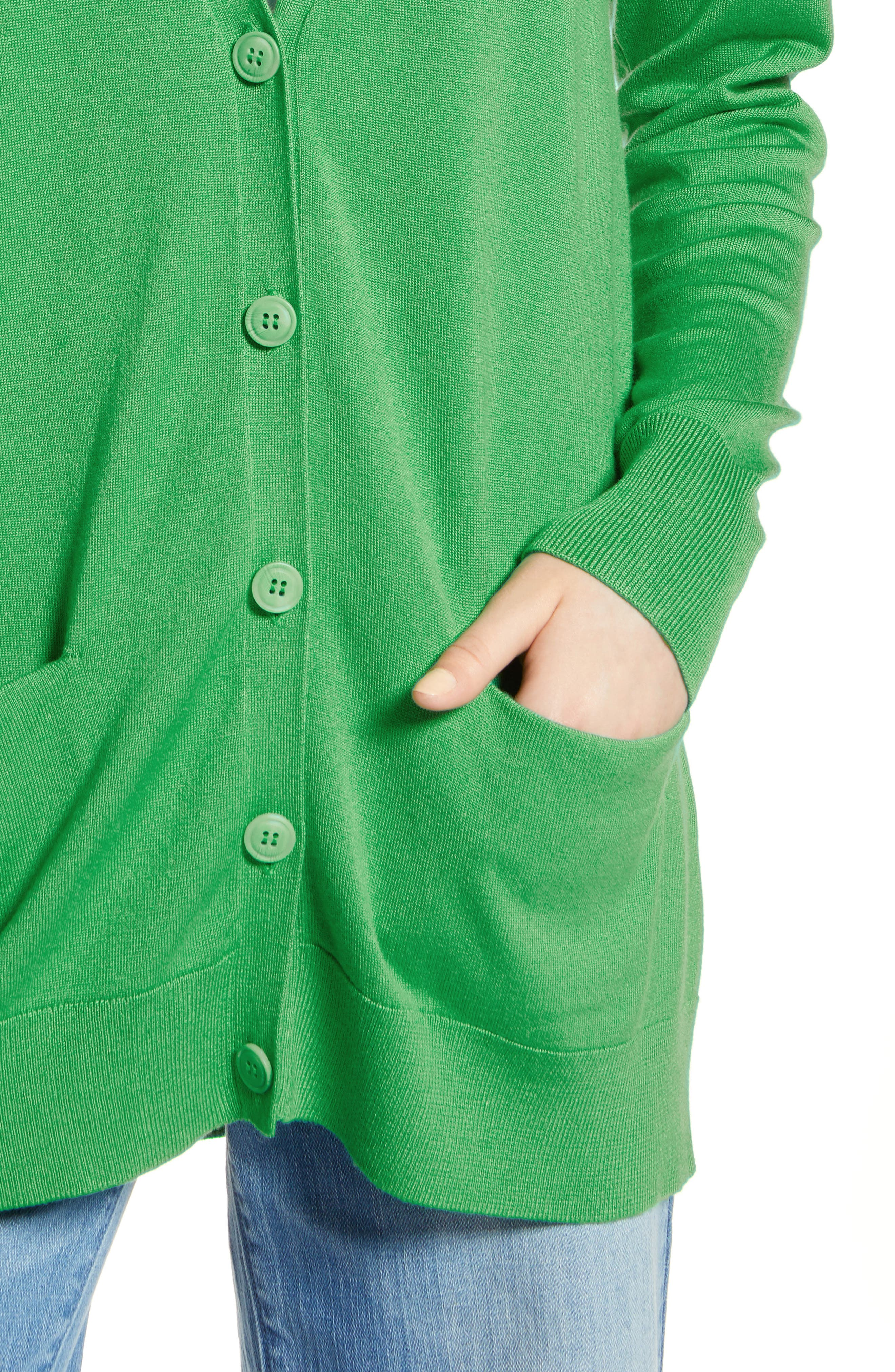 Relaxed Pocket Cardigan,                             Alternate thumbnail 32, color,