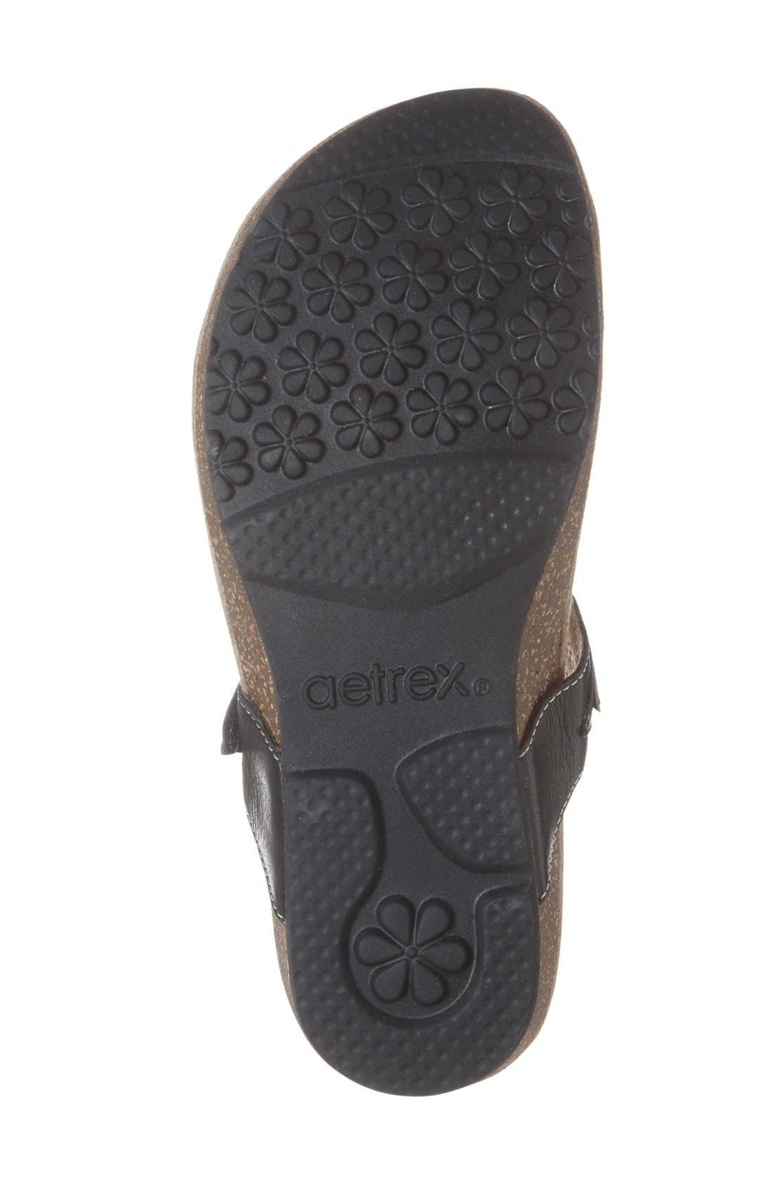 'Terri' Flip Flop,                             Alternate thumbnail 3, color,                             001