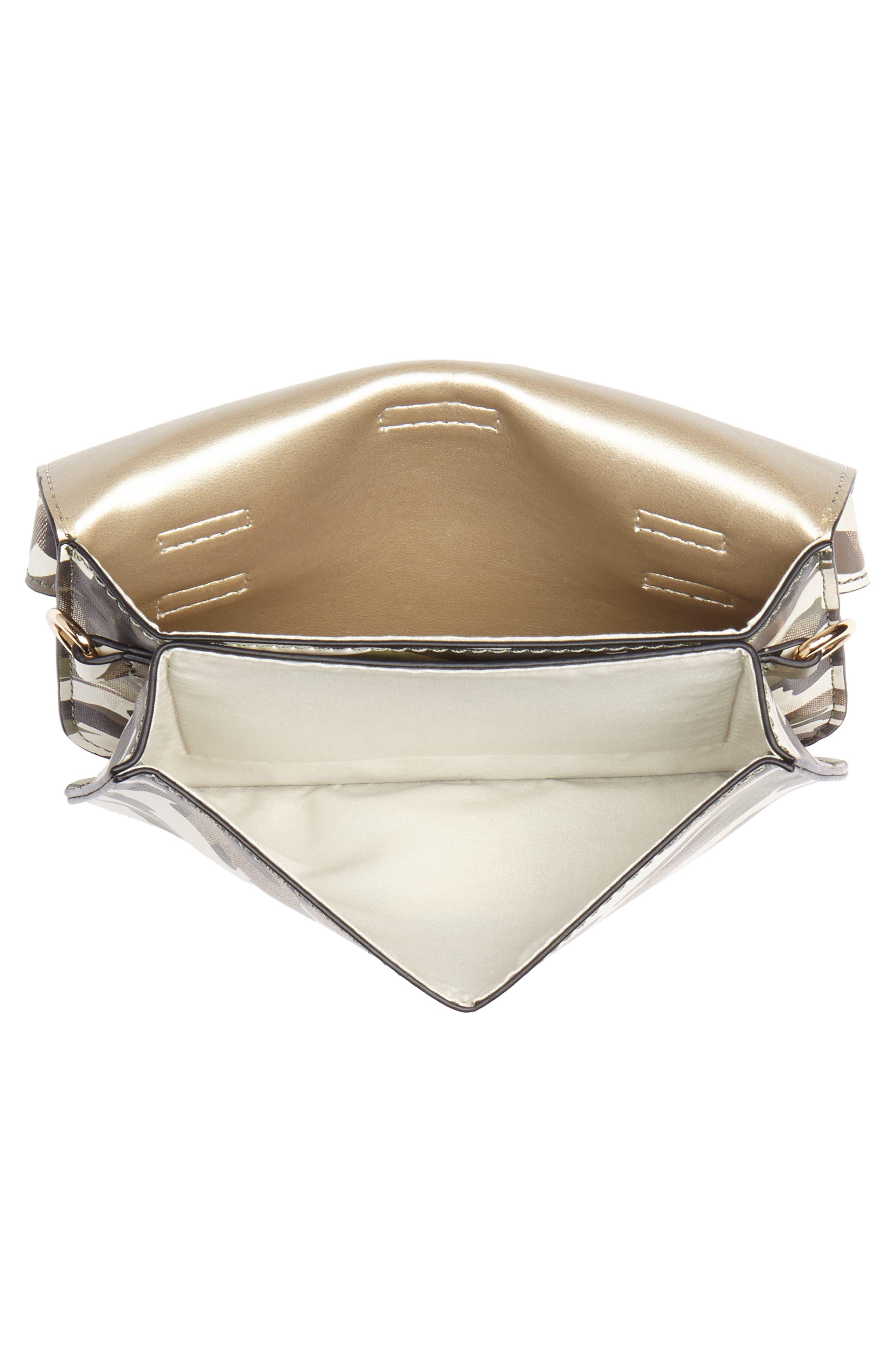 Mali + Lili Stella Camouflage Vegan Leather Crossbody Belt Bag,                             Alternate thumbnail 6, color,                             CAMOUFLAGE